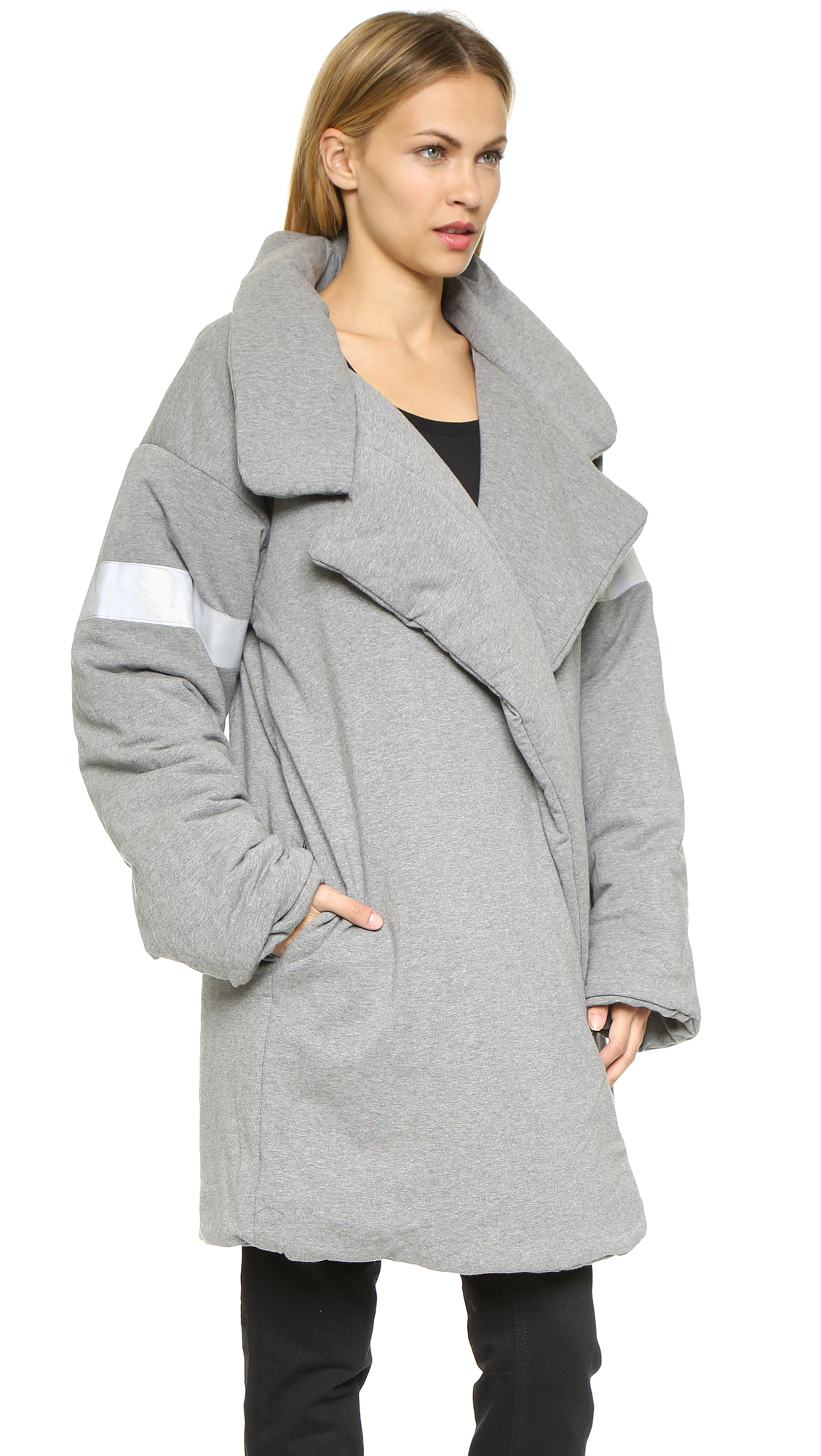 Norma kamali Reversible Quilted Sleeping Bag Coat