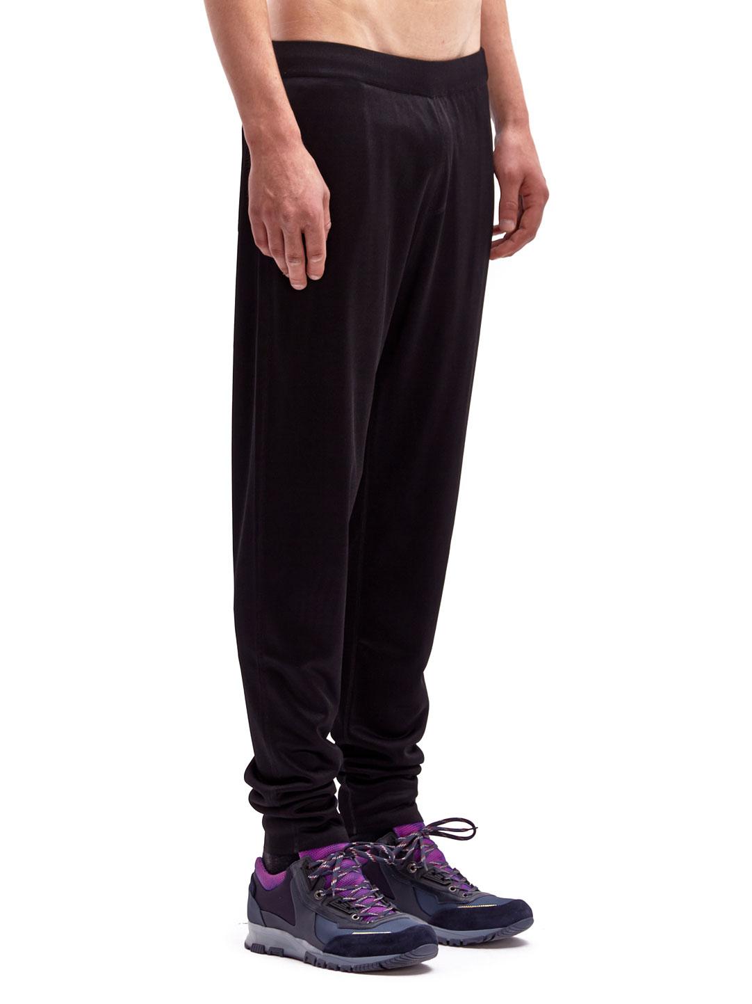 Lyst Lanvin Mens Tapered Technical Pants In Black For Men