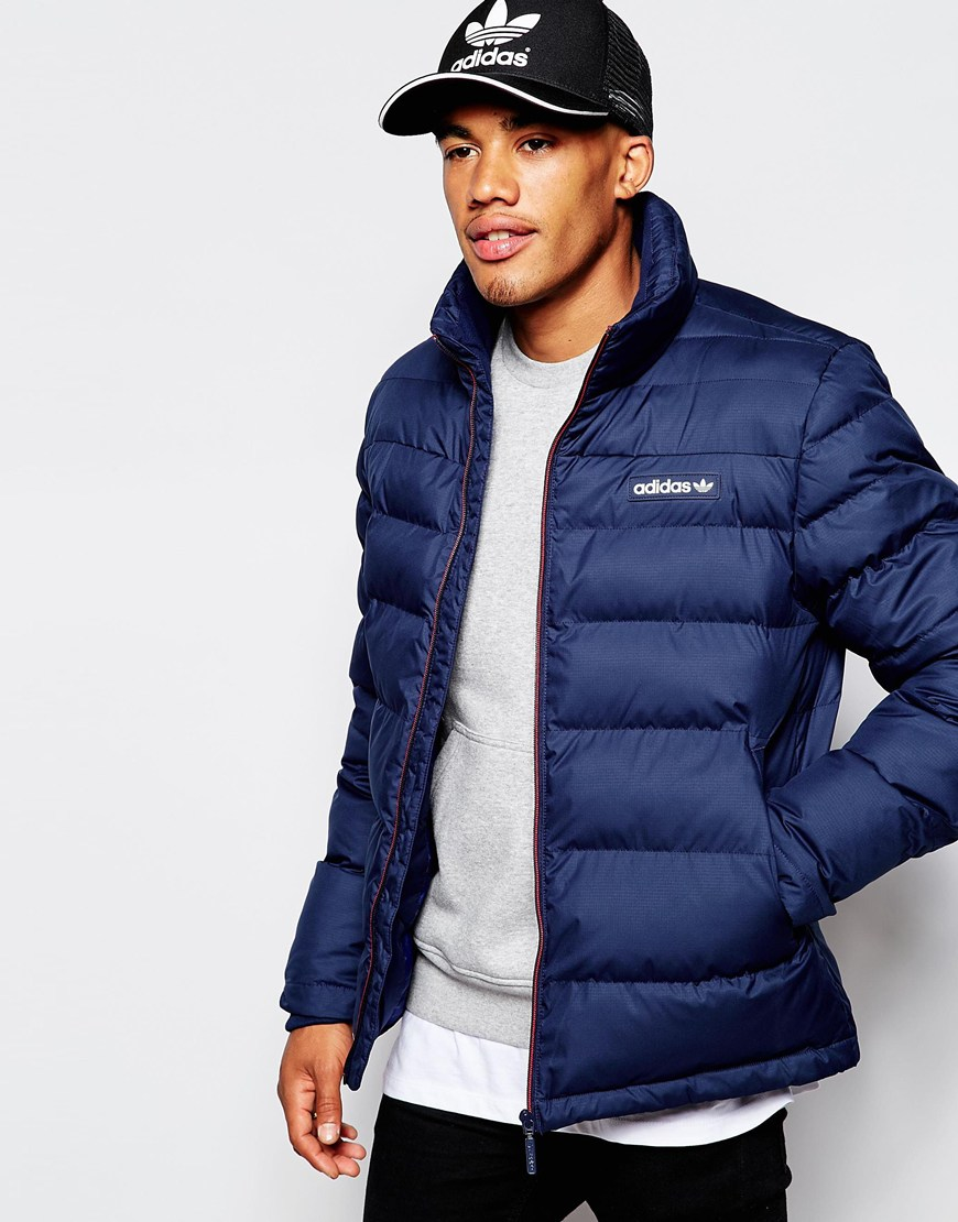 adidas originals coat mens
