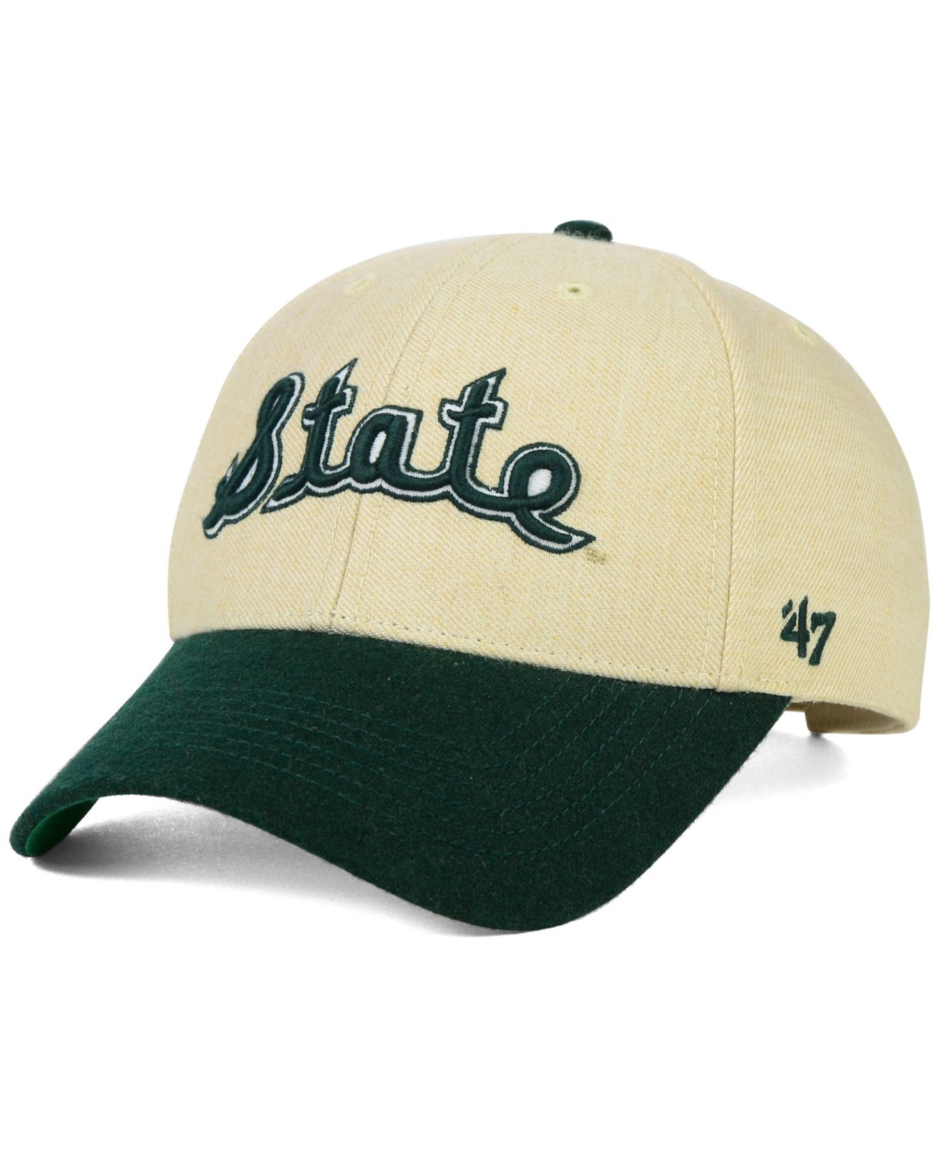 new concept 878b7 ec6f2 ... discount new zealand lyst 47 brand michigan state spartans munson mvp  cap in natural 86f93 0b6a4