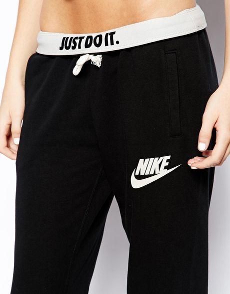 Excellent Nike Pants  Womens Nike Black Rally Jogger Black Sweatpants