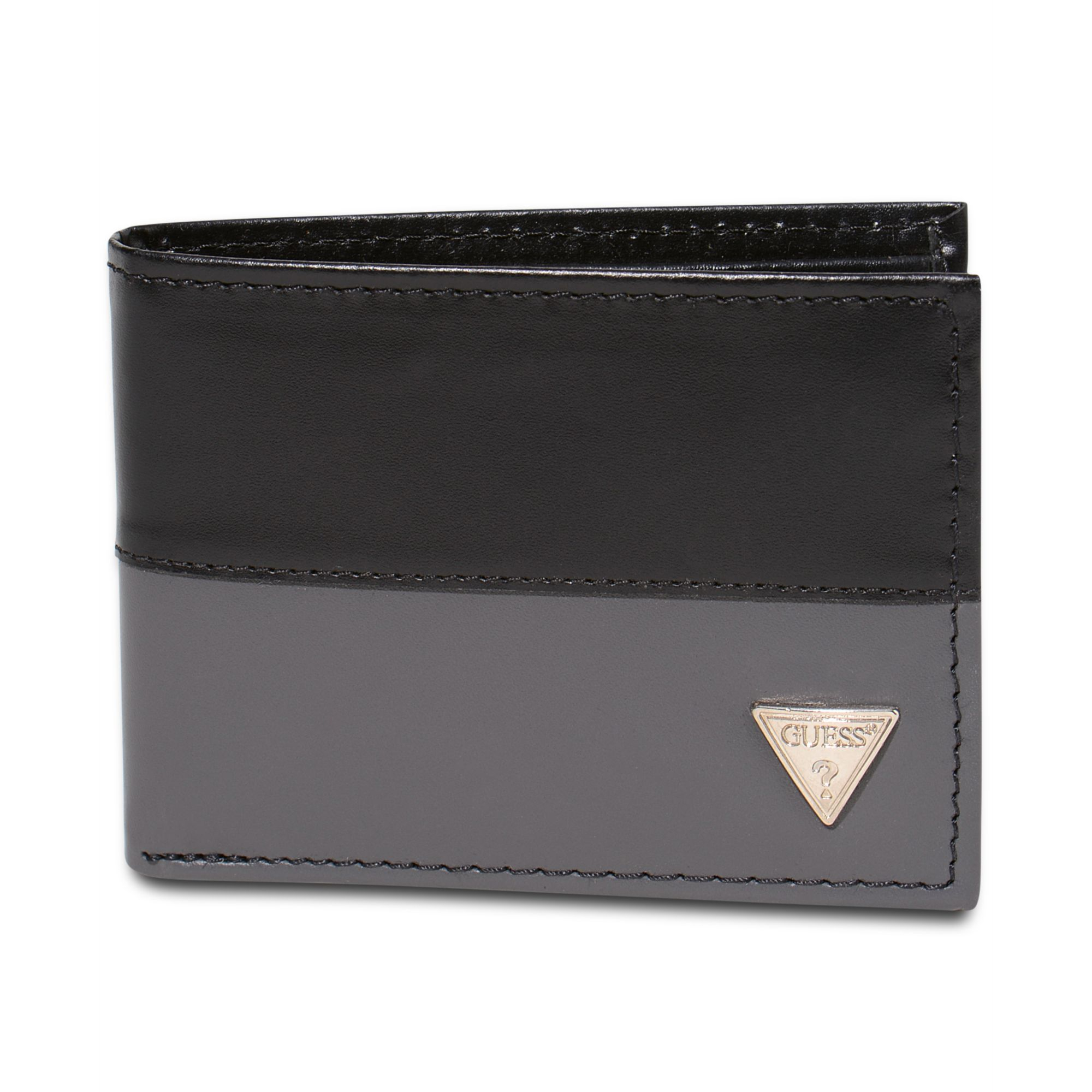 Guess Guess Wallets Semi Glazed Slim Passcase Wallet In