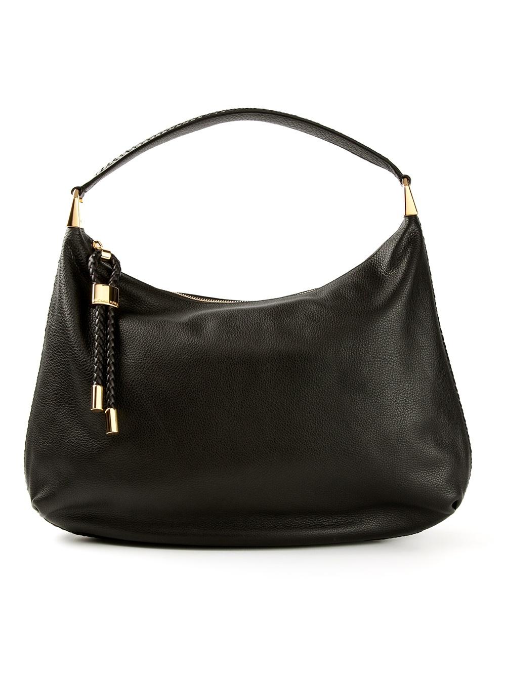michael kors skorpios hobo shoulder bag in black lyst. Black Bedroom Furniture Sets. Home Design Ideas