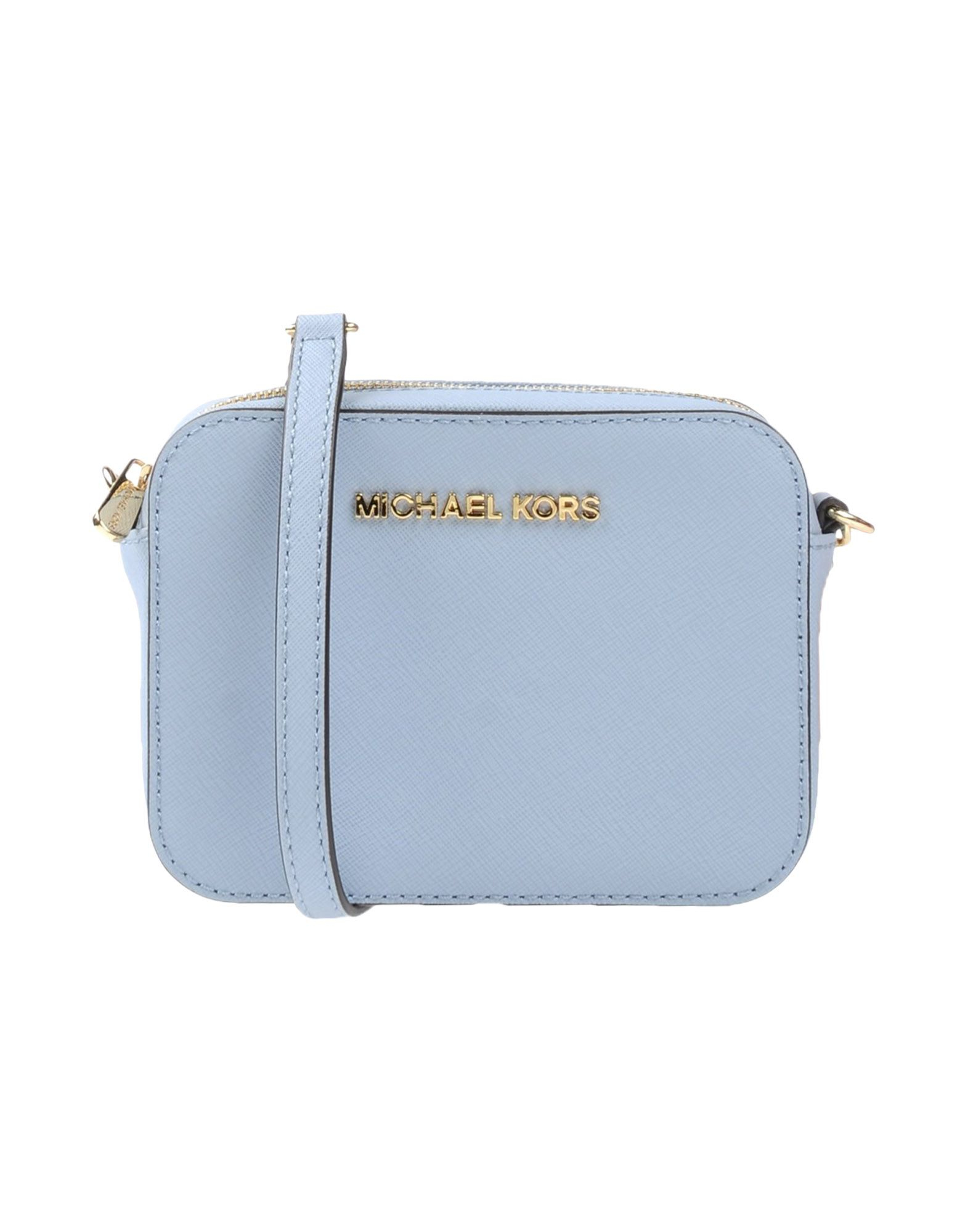 michael michael kors sky blue cross body bag blue product 0 305835487. Black Bedroom Furniture Sets. Home Design Ideas