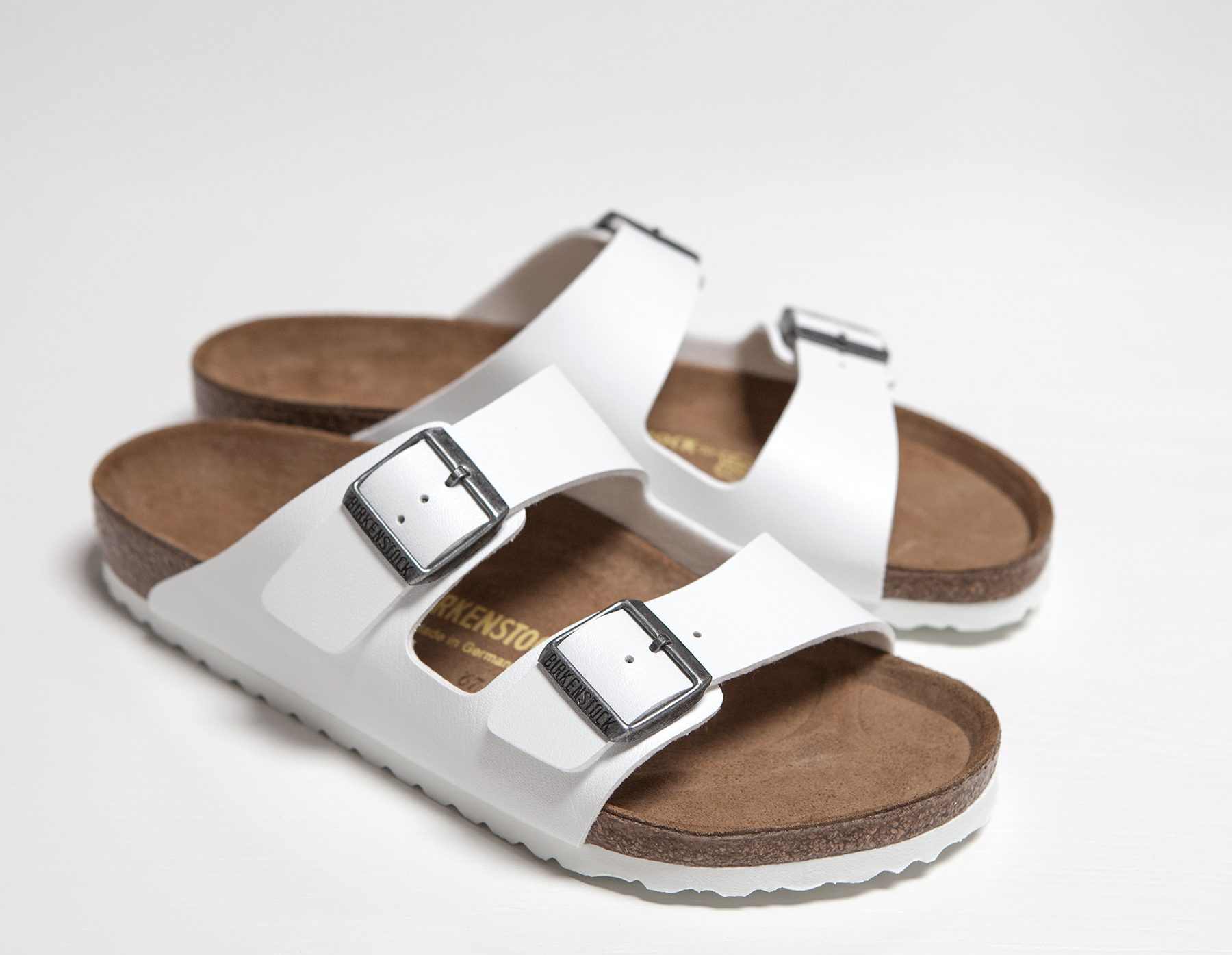 James Perse Birkenstock Arizona Sandal Womens In White