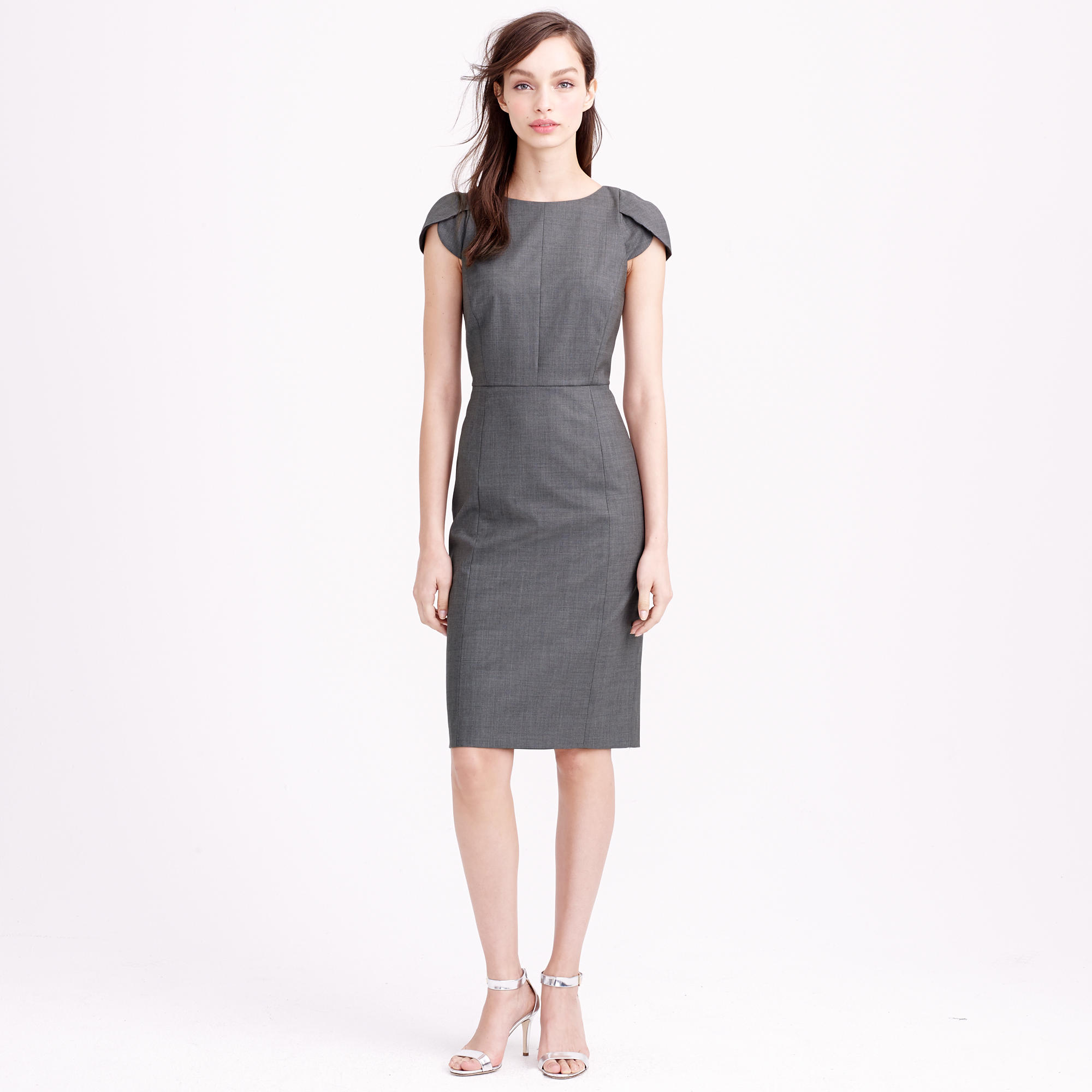 Galerry sheath dress cap sleeves