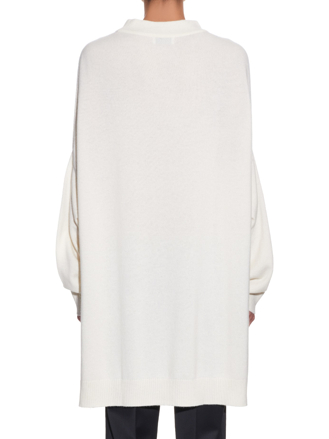 Raey Oversized Roll-neck Cashmere Sweater in Natural | Lyst