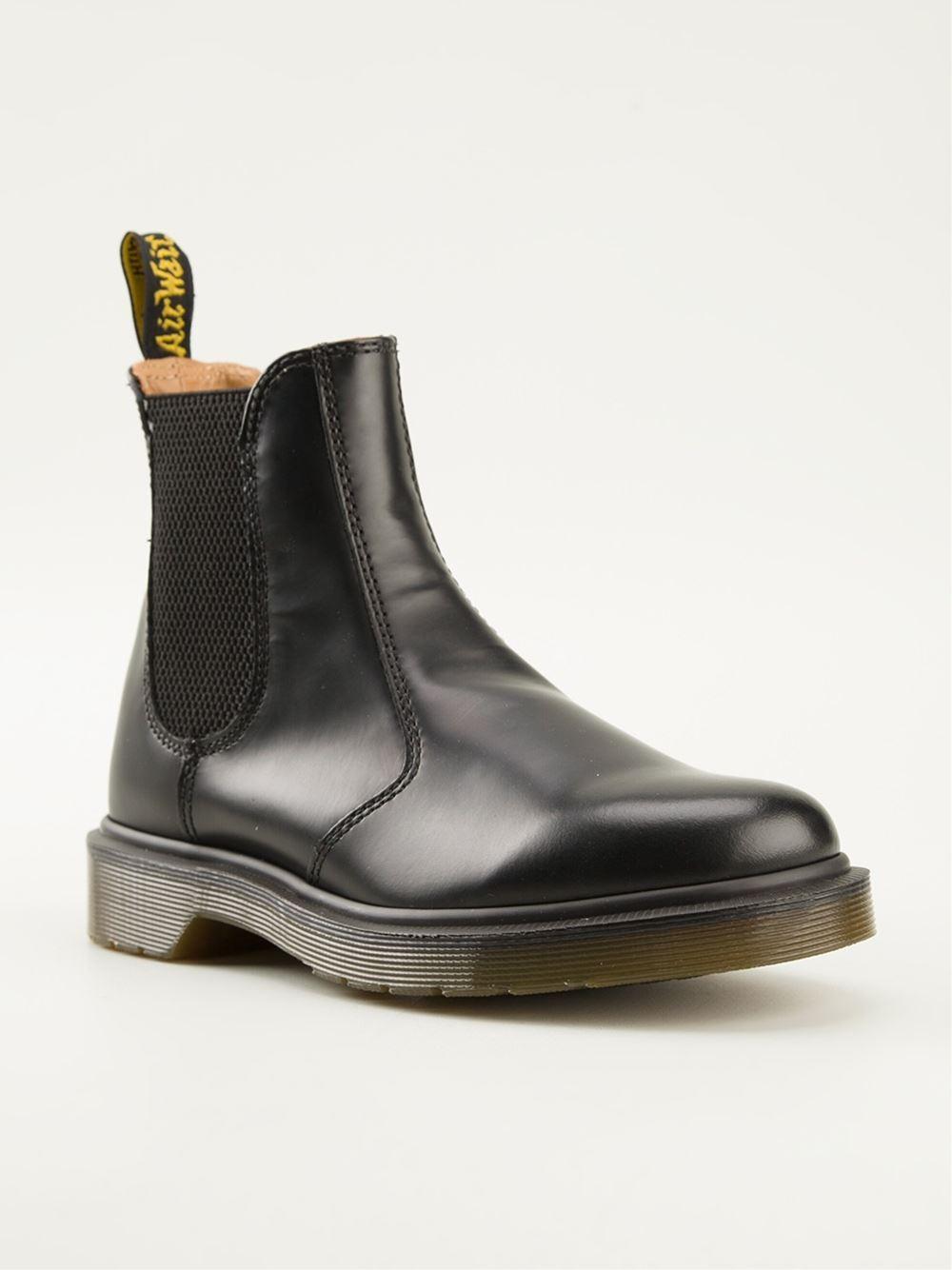 dr martens 39 2976 39 chelsea boots in black lyst. Black Bedroom Furniture Sets. Home Design Ideas