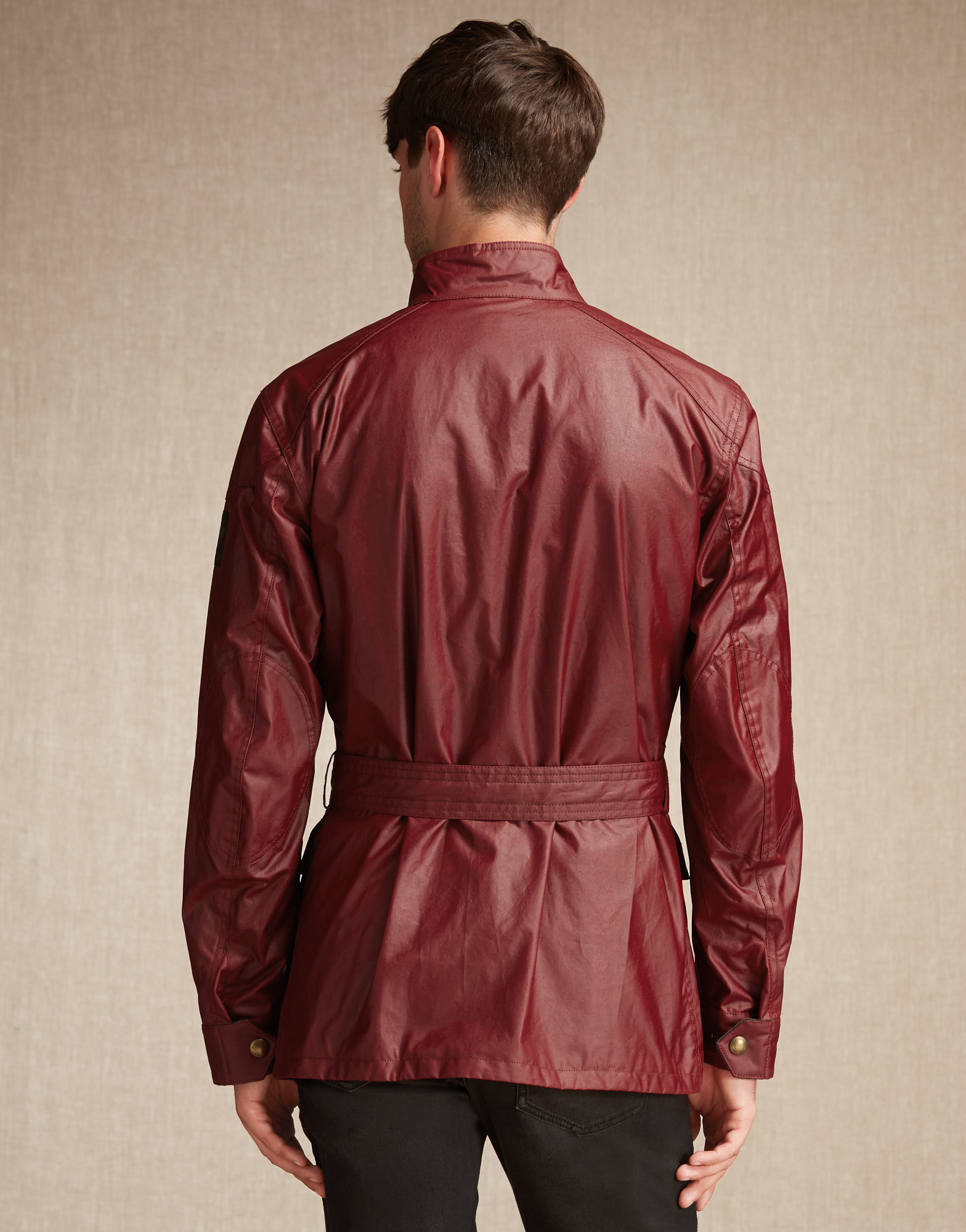 Belstaff Roadmaster Jacket Red