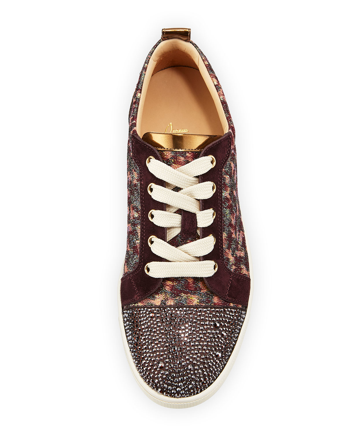 Christian Louboutin Gondola Strass Low-Top Sneakers latest collections cheap price sast online purchase online srFxk