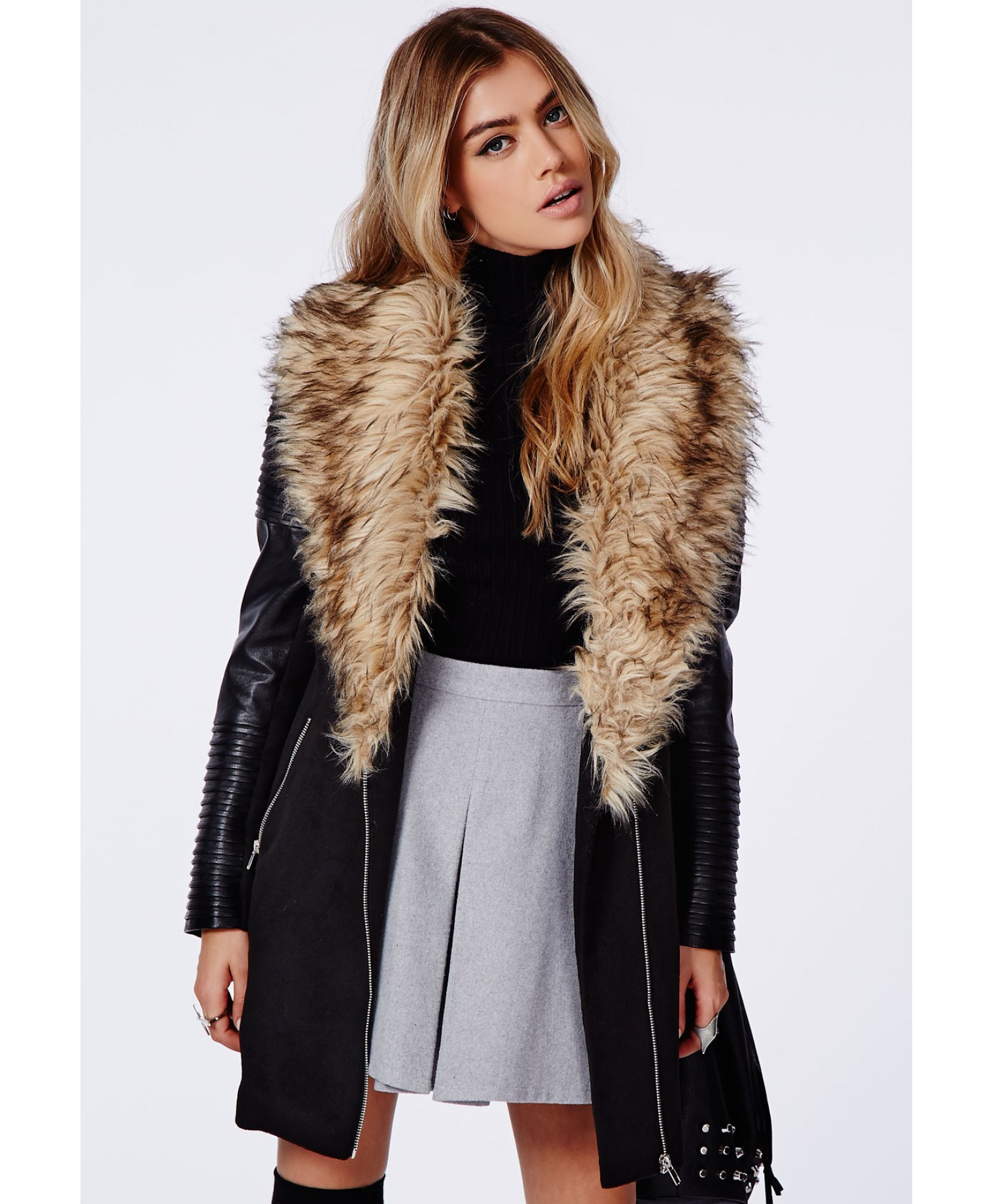 Women's Apparel, Coats & Jackets, Leather & Faux Leather at disborunmaba.ga, offering the modern energy, style and personalized service of Saks Fifth Avenue stores, in .
