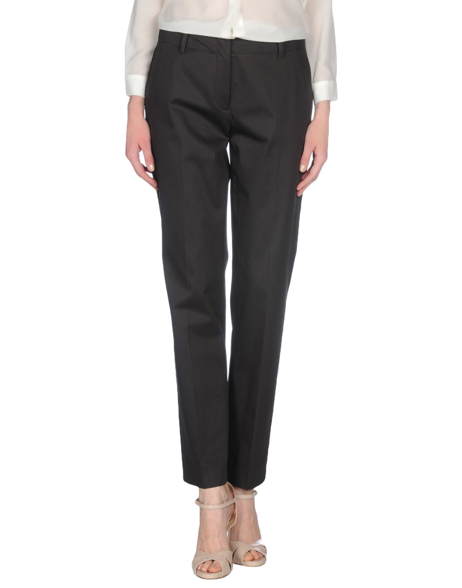 Perfect Jeckerson Casual Trouser In Brown Dark Brown  Lyst