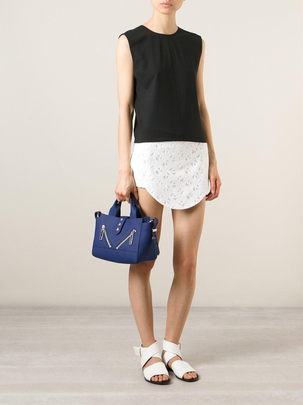 ec0fa3f5 KENZO 'Kalifornia' Shoulder Bag in Blue - Lyst