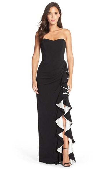 Badgley Mischka Black Dresses
