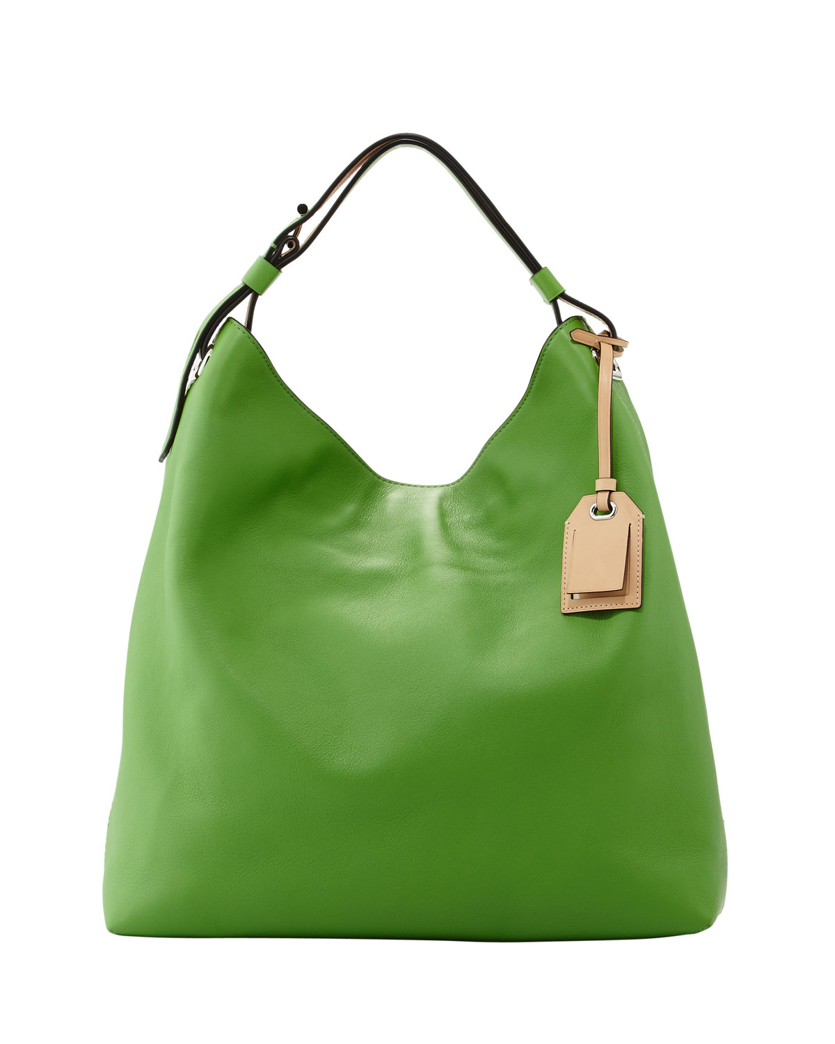 Reed krakoff Rdk Leather Hobo Bag Green in Green | Lyst