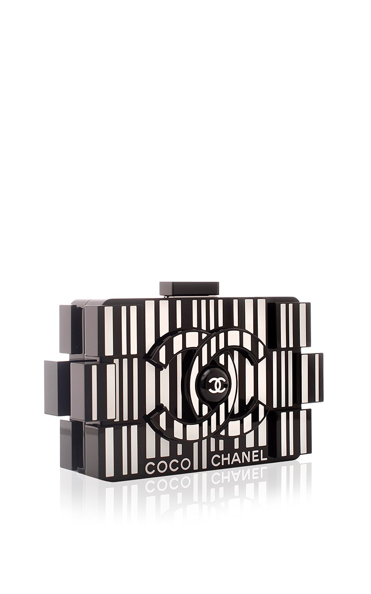 4d52f8c8b666 Madison Avenue Couture Chanel Runway Barcode Black And White ...