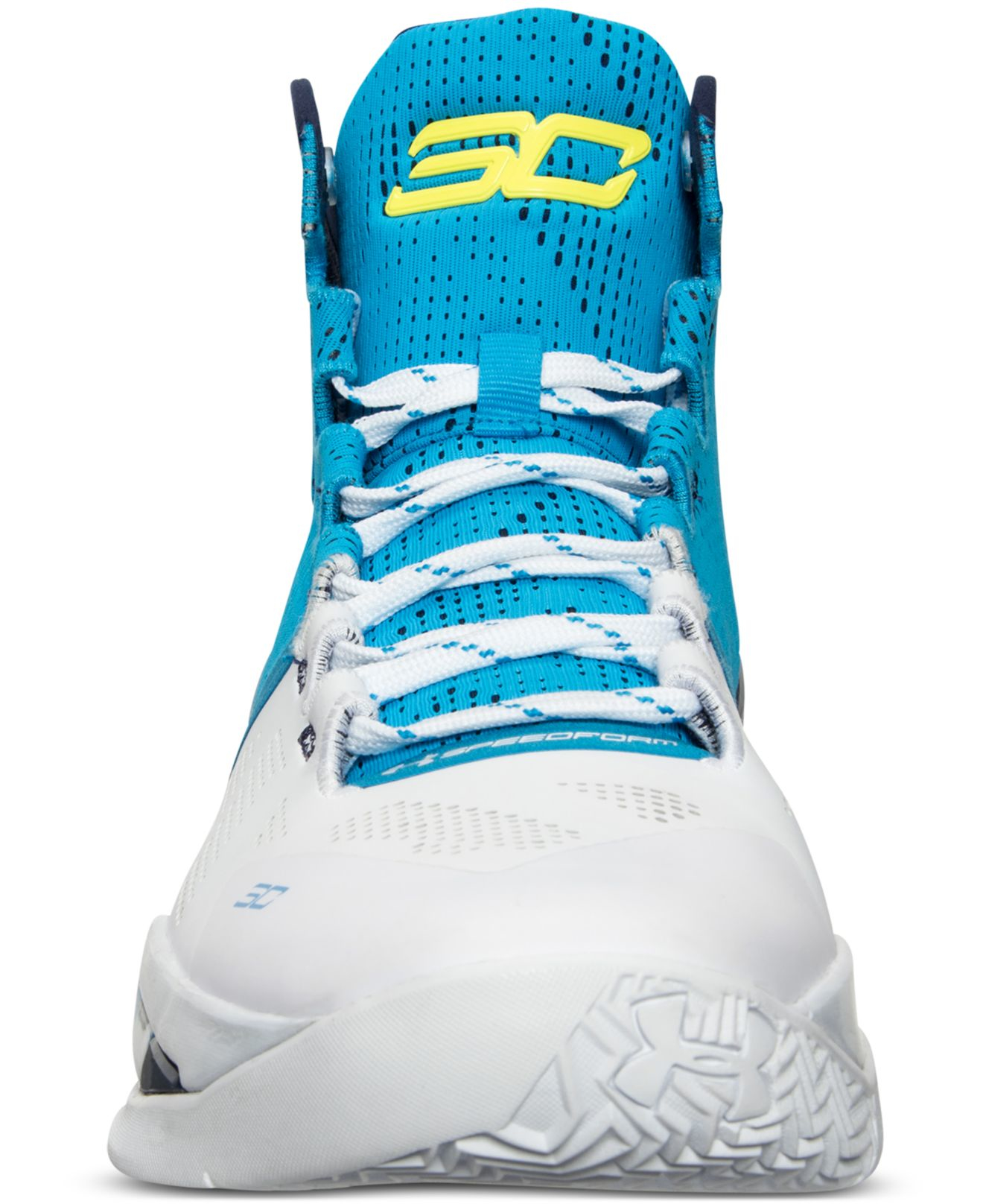 b06797cfb0c7 ... coupon code for lyst under armour mens curry two basketball sneakers  from finish line in blue