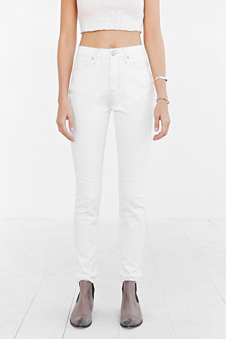 Bdg High-rise Twig Grazer Jean - Vintage White in White | Lyst