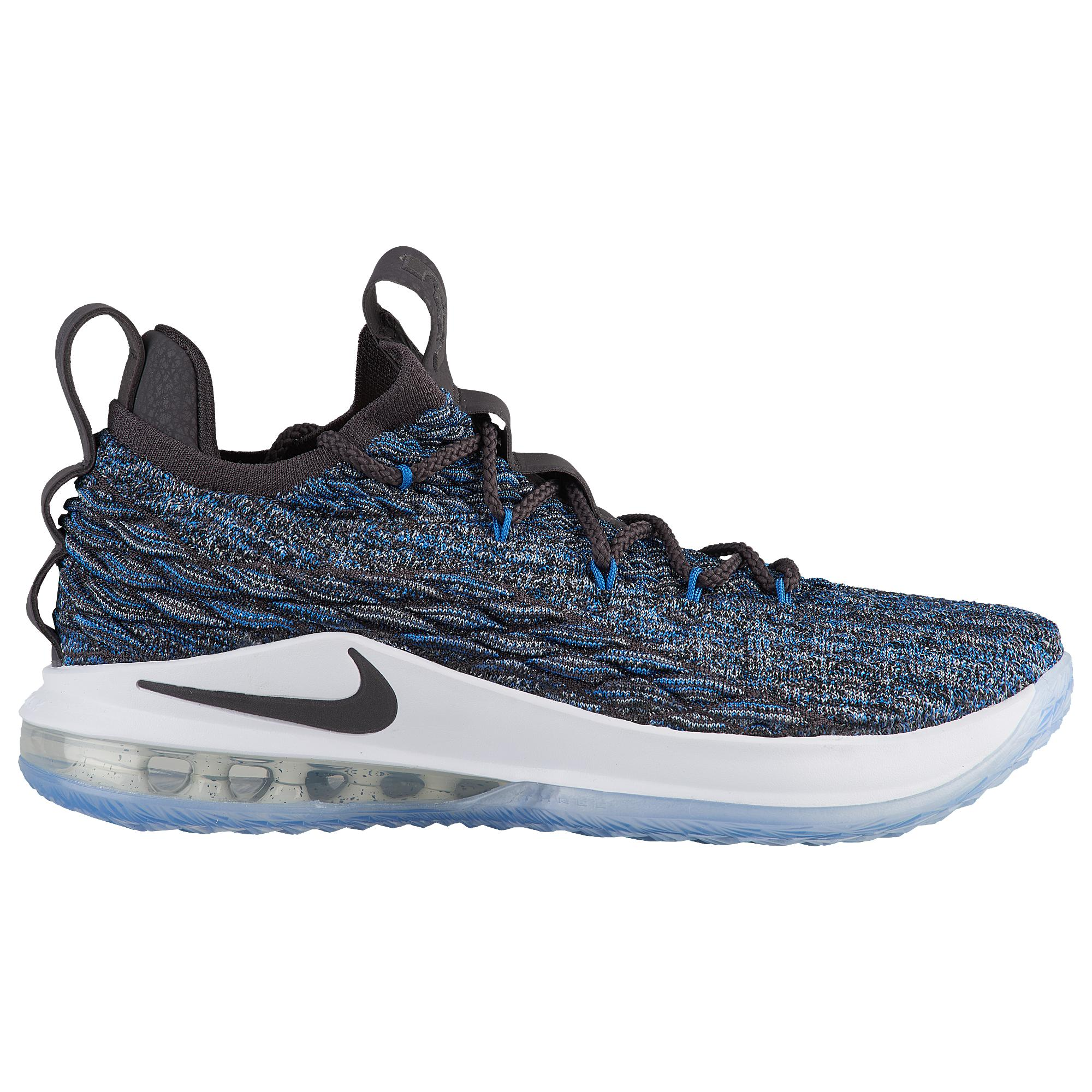 buy popular a6f41 aba57 Nike Lebron James Lebron 15 Low in Blue for Men - Lyst