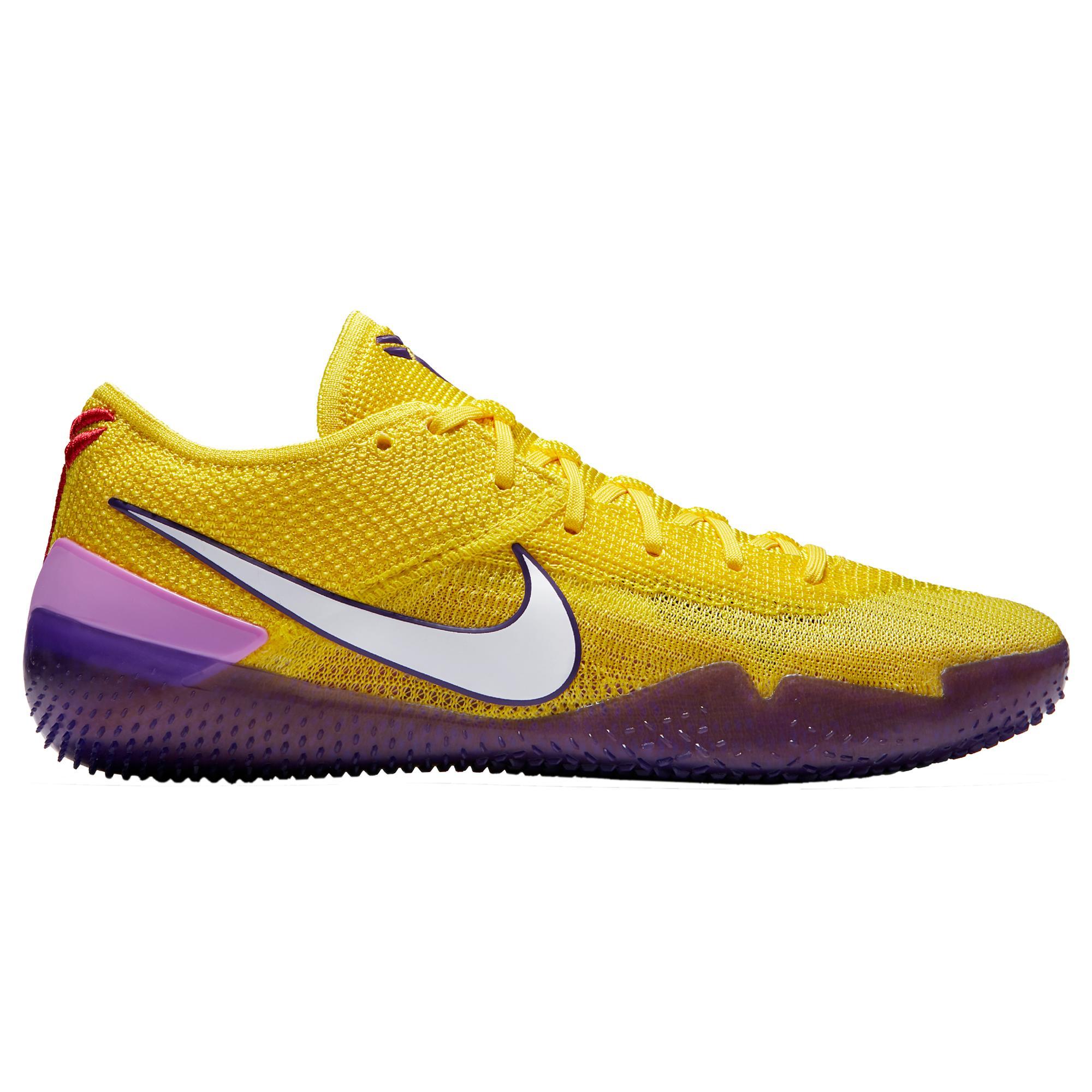 brand new d4852 220c0 Nike Kobe Bryant Kobe Ad Nxt 360 in Yellow for Men - Lyst