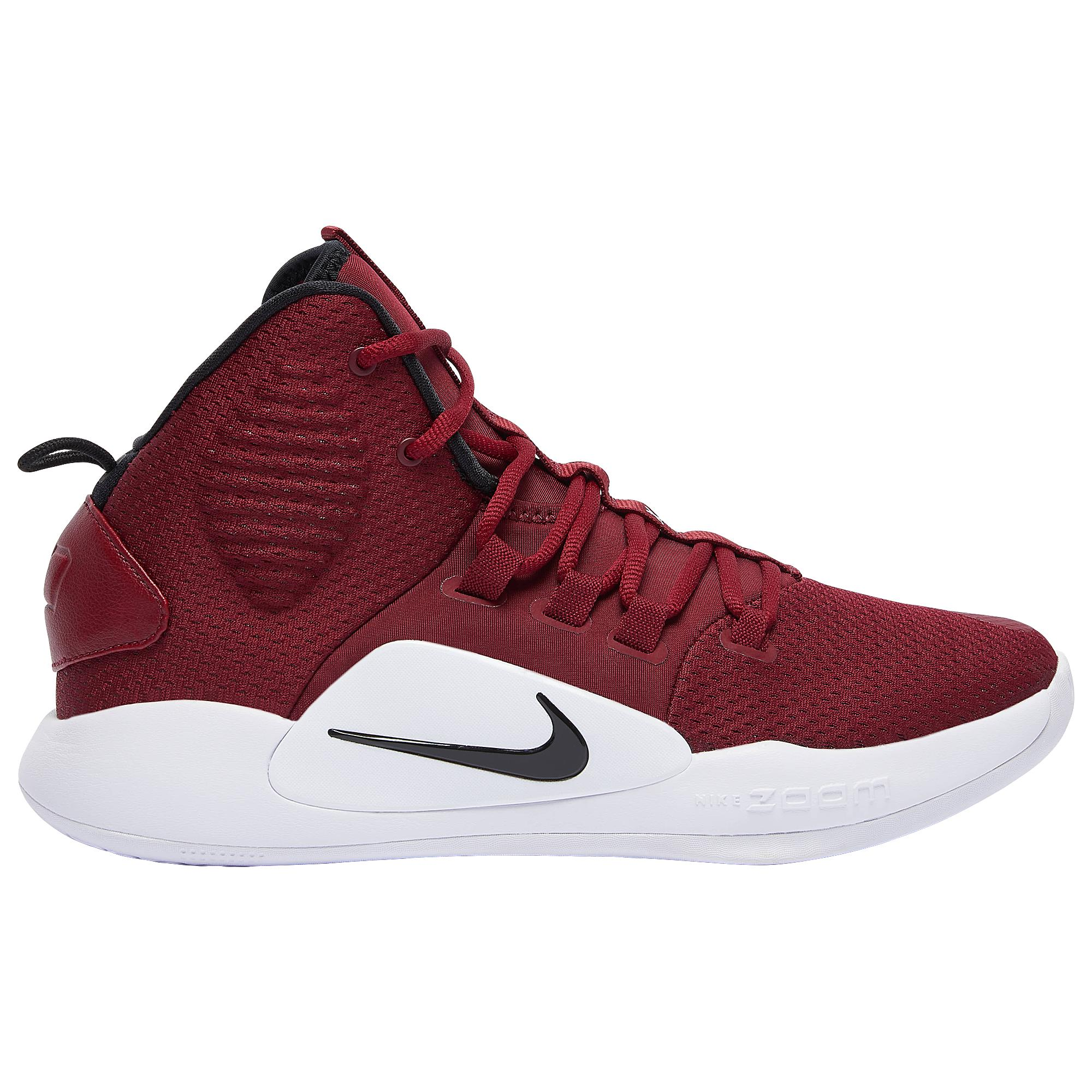 detailed look 1dcea 317d5 Nike Hyperdunk X Mid in Red for Men - Lyst