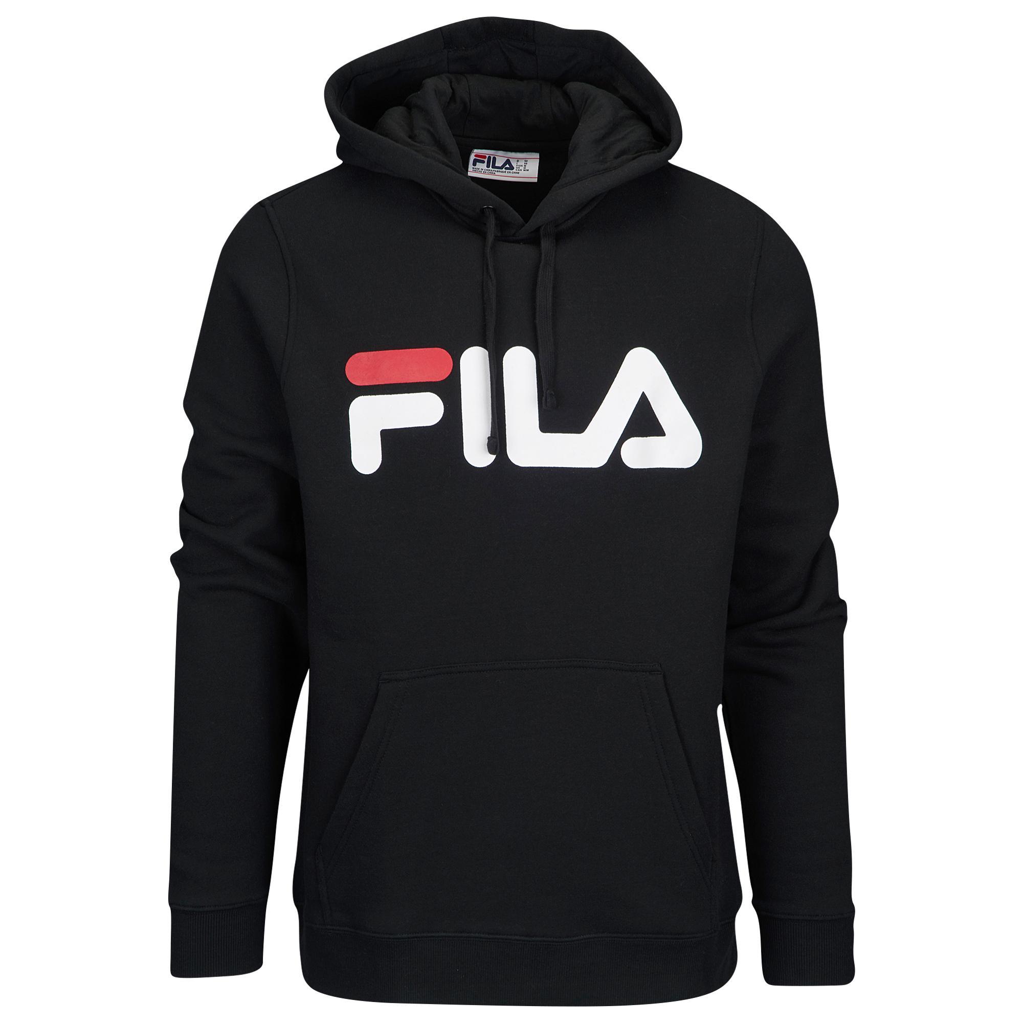 d3fa623c75 Fila Fiori Hoodie in Black for Men - Save 55% - Lyst