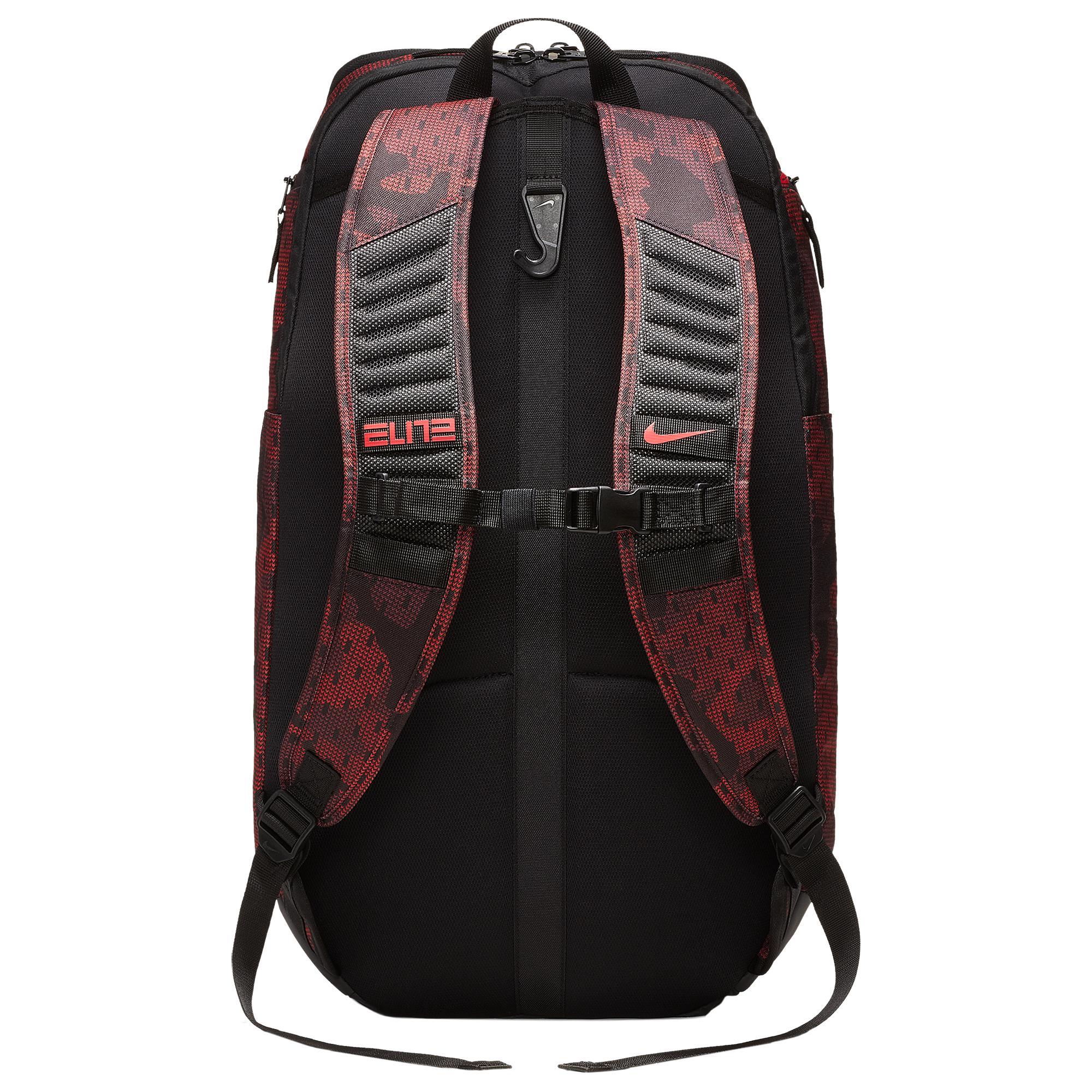 813244ac548 Nike Hoop Elite Max Air Aop Backpack in Red for Men - Lyst