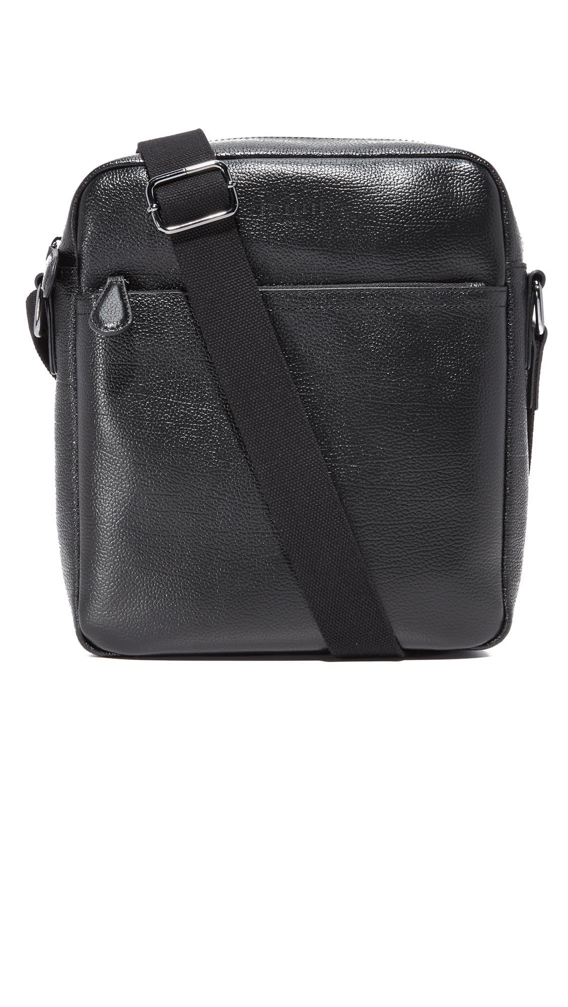 00dae38a99ee95 Ted Baker Flycor Messenger Bag in Black for Men - Lyst