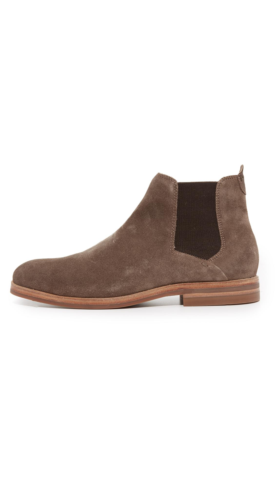 476ea8cf46b H by Hudson Tonti Suede Chelsea Boots in Brown for Men - Lyst
