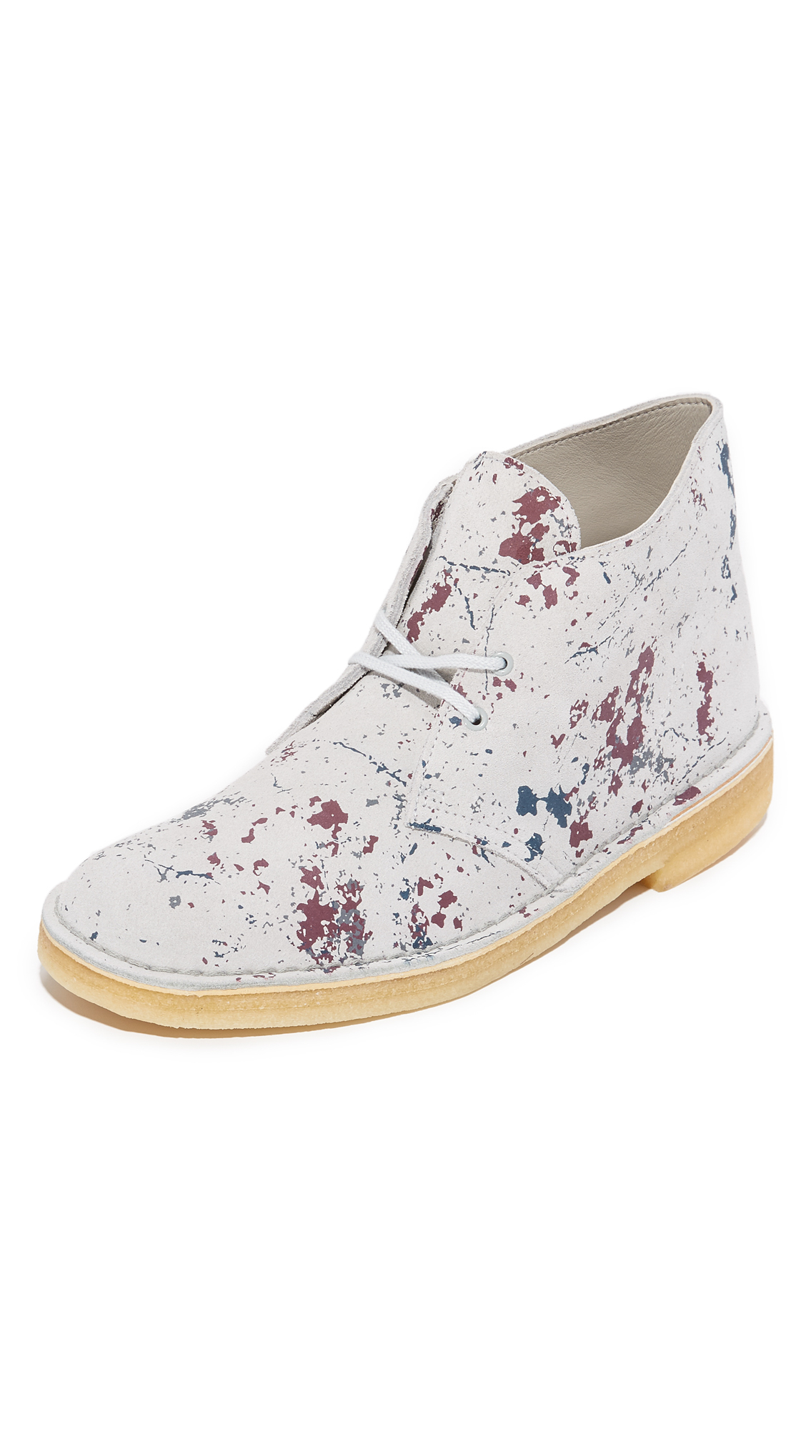 5cf10efd9824a Lyst - Clarks Paint Splatter Desert Boots for Men