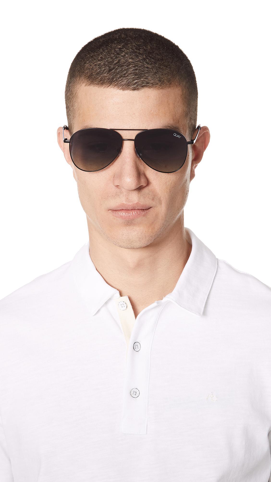6a9b2899dc Quay - Black Still Standing Sunglasses for Men - Lyst. View fullscreen