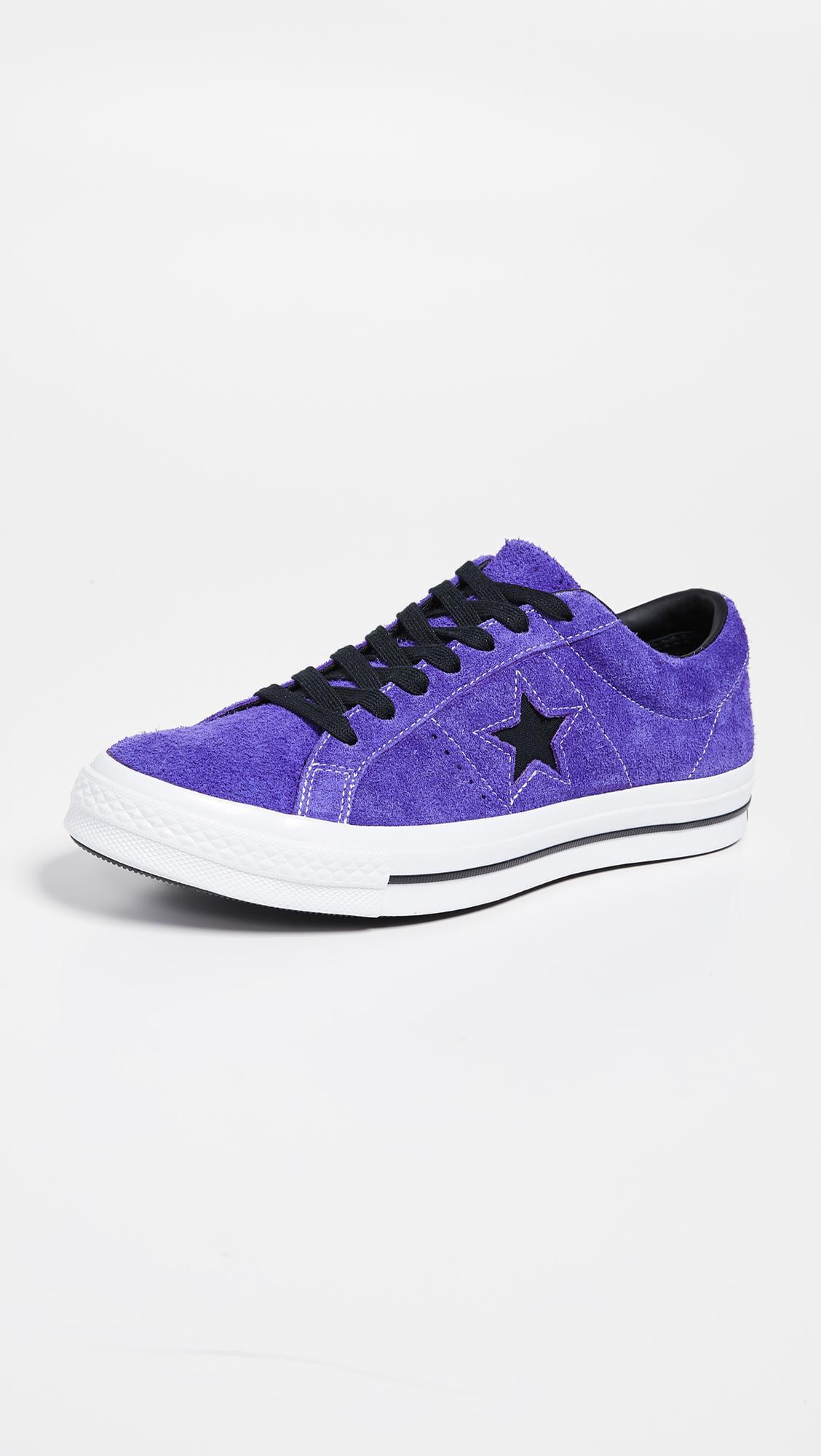 f44fabd834237a Converse Dark Star Vintage Suede Oxford Sneakers in Purple for Men ...