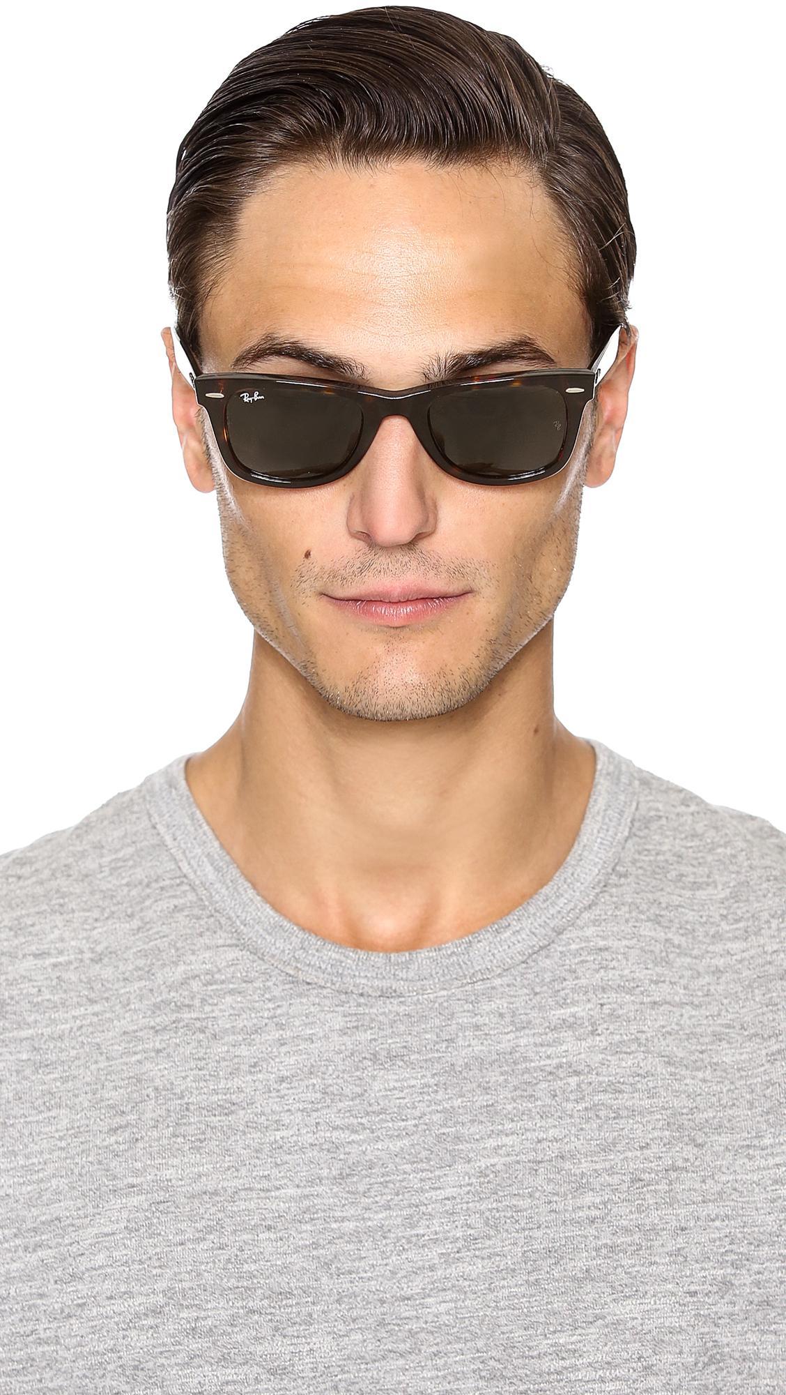 081141404da Gallery. Previously sold at  East Dane · Men s Wayfarer Sunglasses Men s Ray  Ban ...