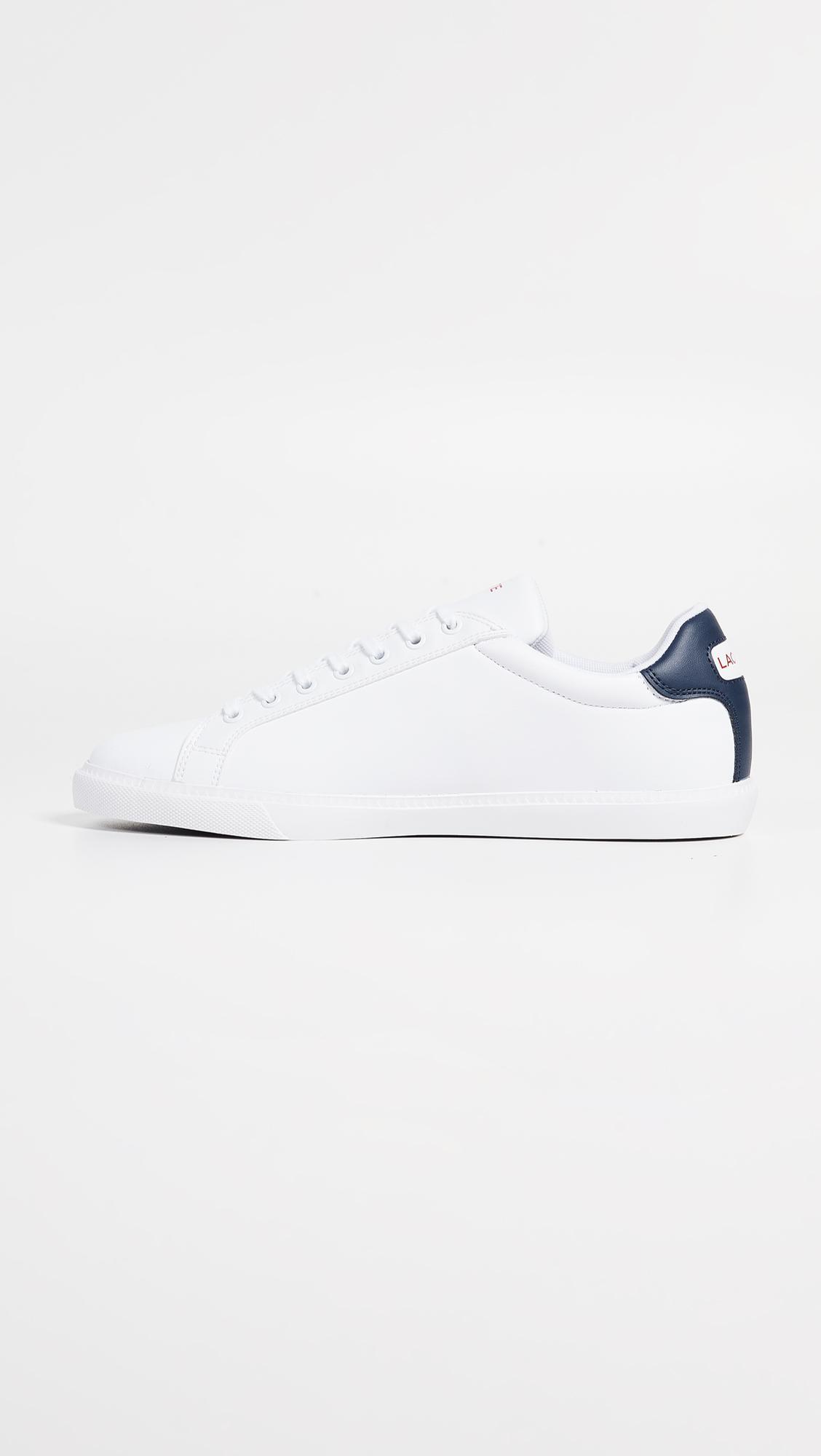 25a40e1b73459 Lacoste - White Grand Vulc Tennis Sneakers for Men - Lyst. View fullscreen