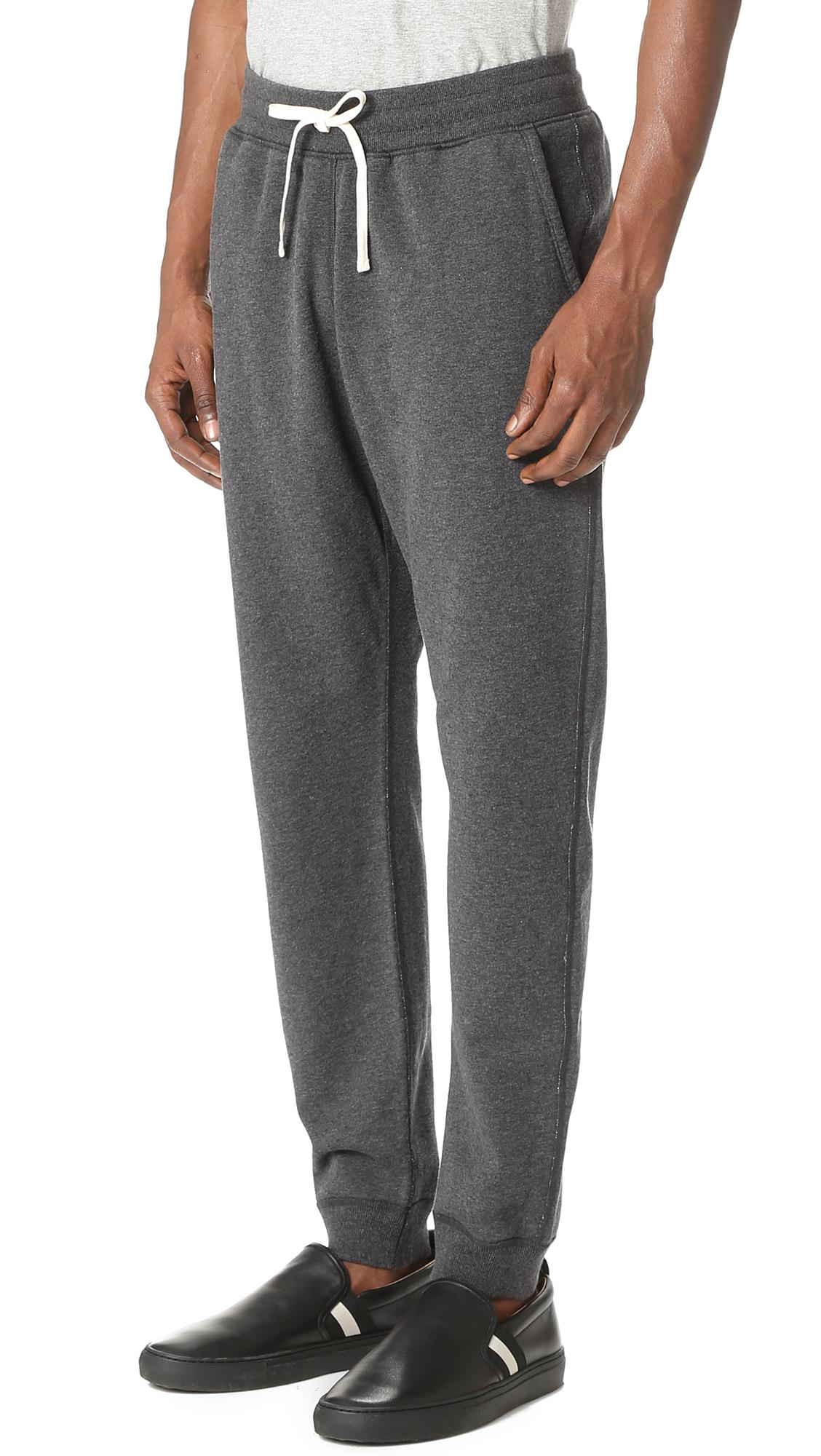 c949a3dd89c5 Lyst - Reigning Champ Mid Weight Terry Slim Sweatpants in Gray for Men