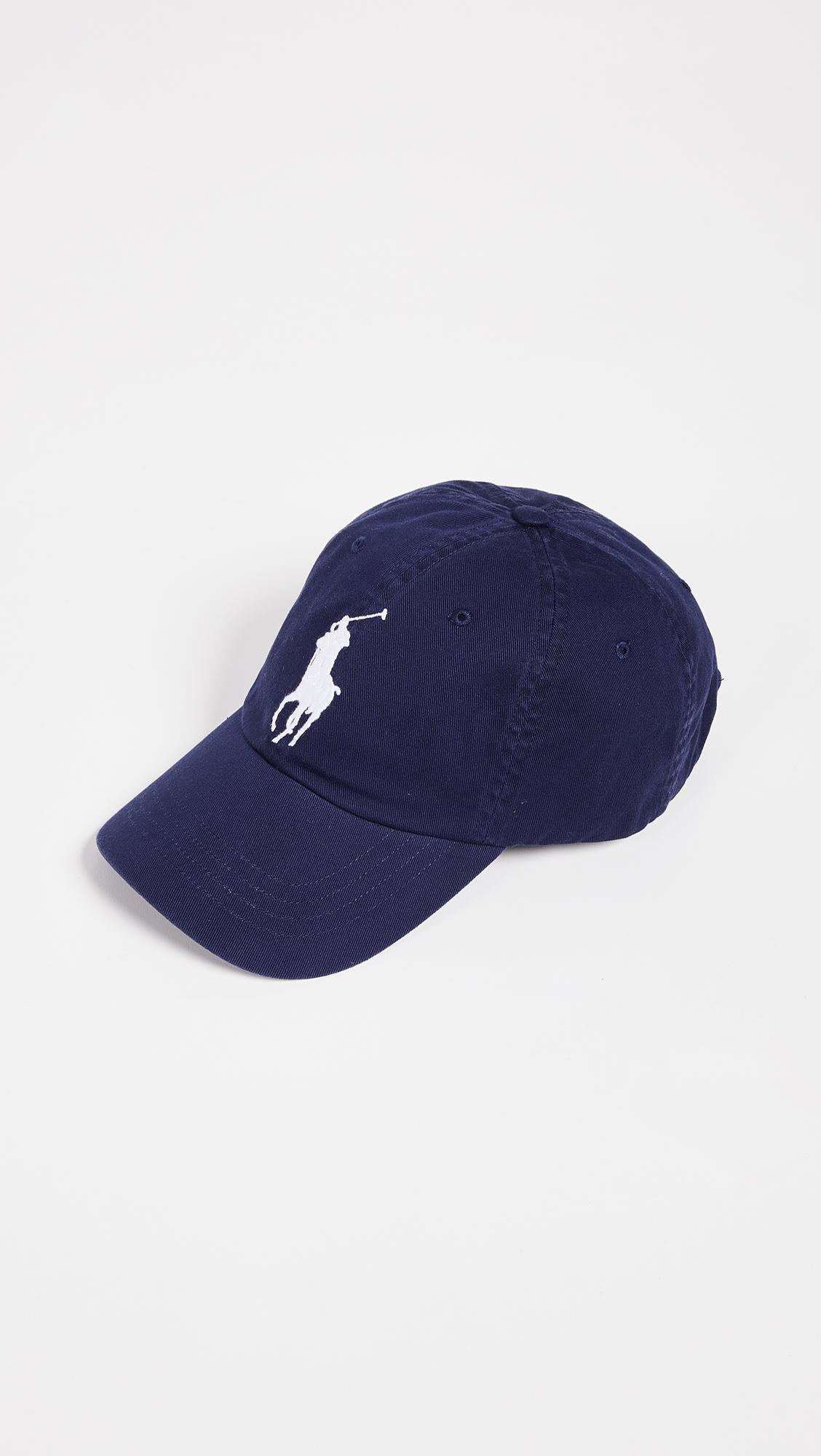 5d0d4d38fe94ec Polo Ralph Lauren - Blue Big Pony Cap for Men - Lyst. View fullscreen