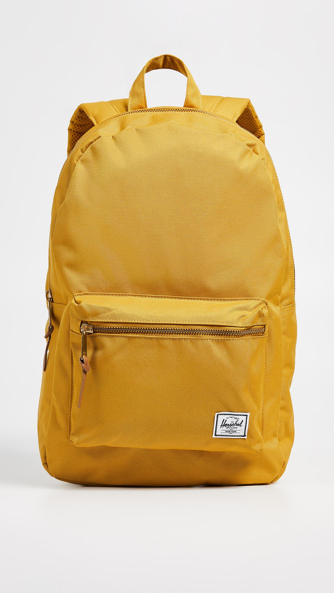 5d83aa147c1 Herschel Supply Co. Classics Settlement Backpack in Yellow for Men ...
