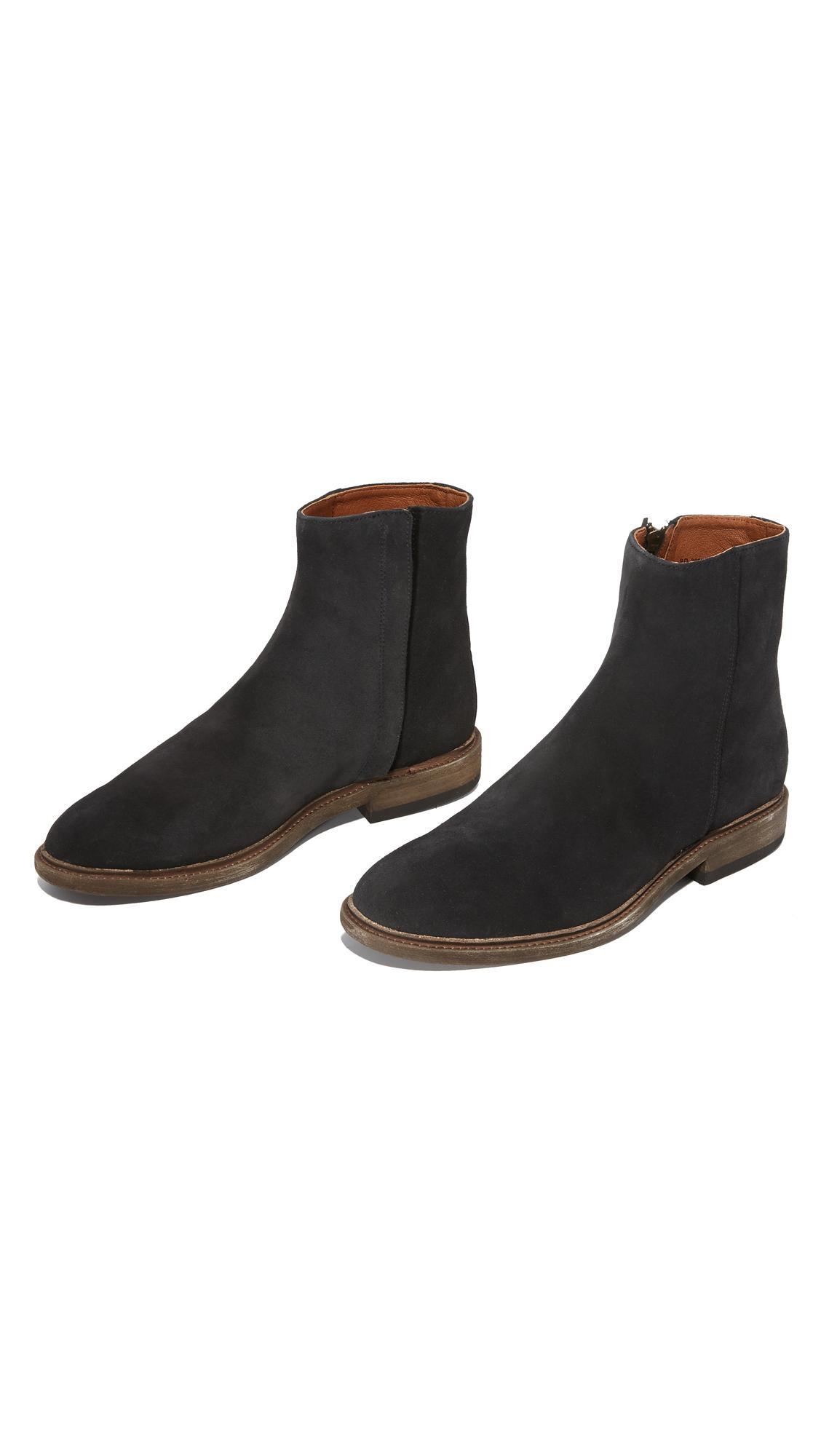 42c99f666fa Lyst - Frye Chris Inside Zip Boots in Black for Men
