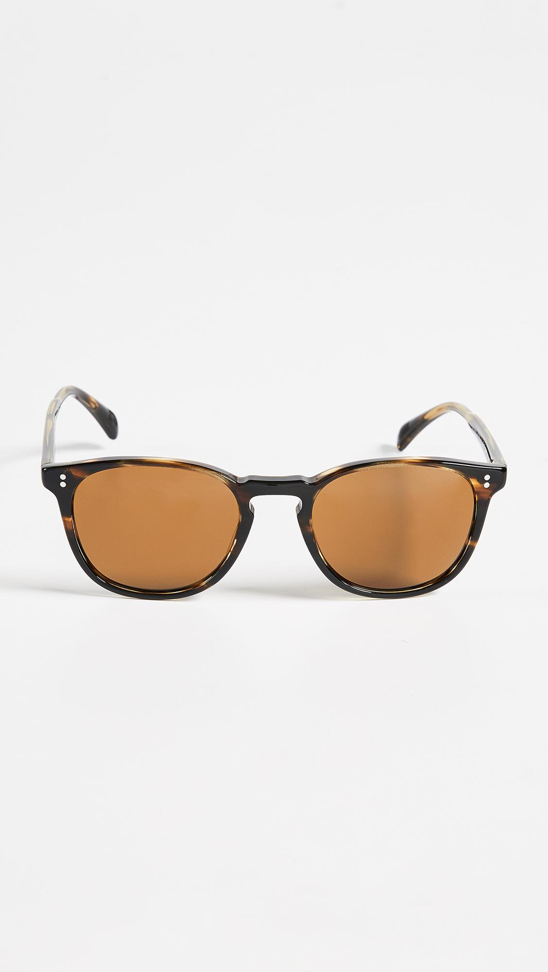 3176e163fa9 Lyst - Oliver Peoples Finley Esquire Sunglasses in Brown for Men
