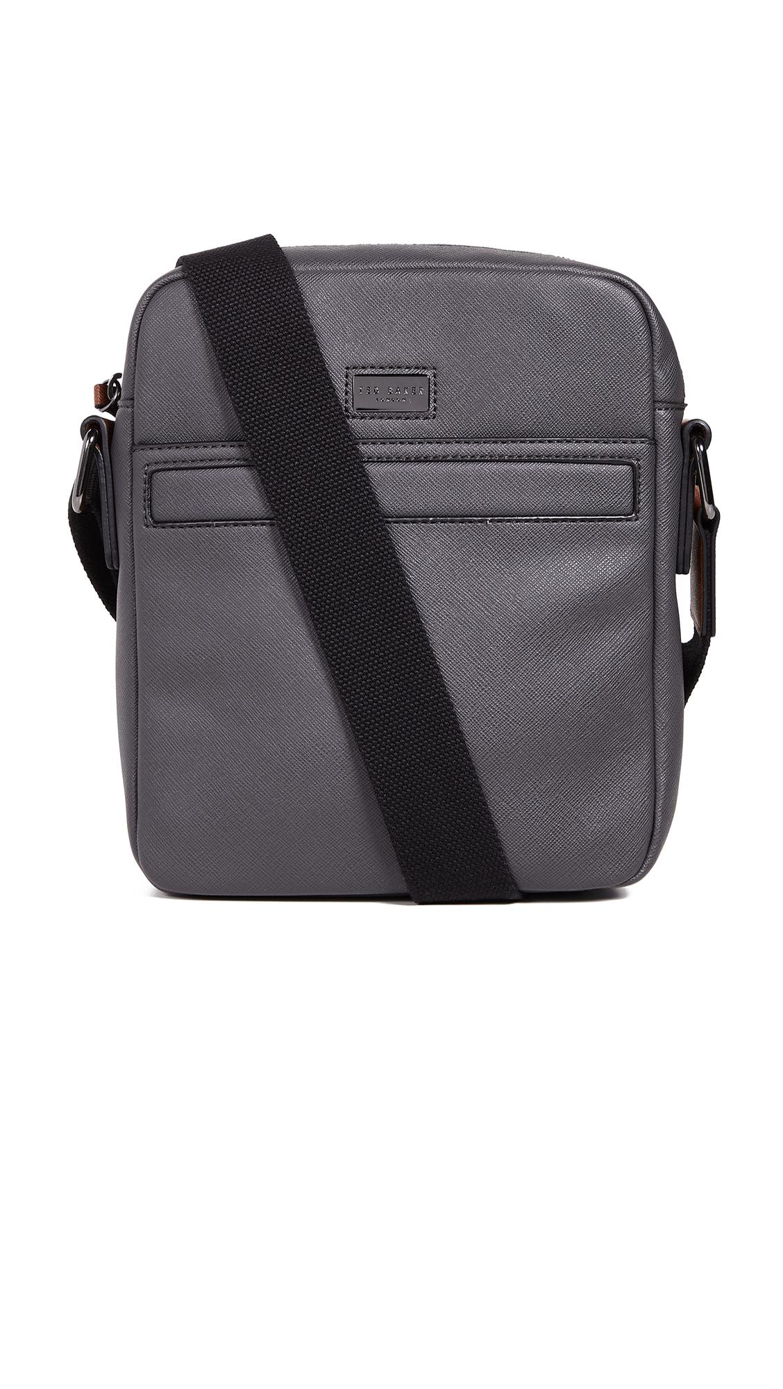 bea3b191db10 Ted Baker Gomera Cross Body Bag in Gray for Men - Lyst