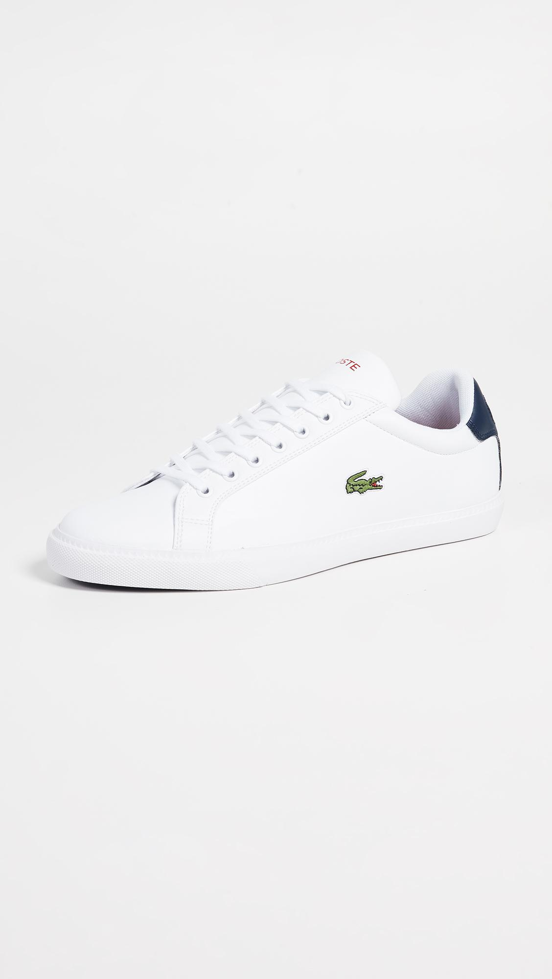 bc16d7dd40757 Lyst - Lacoste Grand Vulc Tennis Sneakers in White for Men
