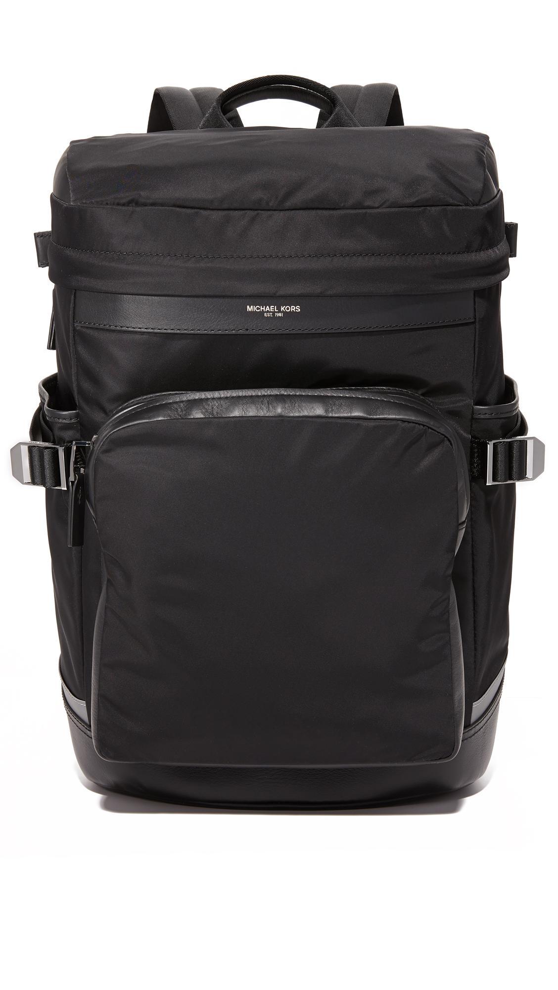 500d730f617b Lyst - Michael Kors Kent Nylon Cycling Backpack in Black for Men