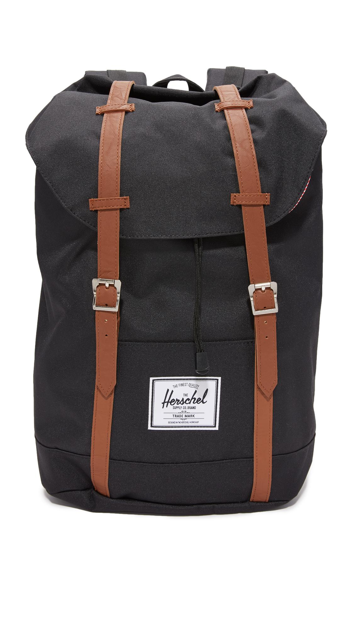 1f9f82ba3d Lyst - Herschel Supply Co. Retreat Classic Backpack in Black for Men ...