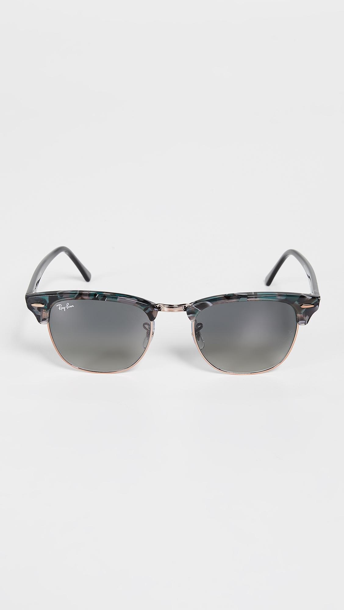 5ec22d19d32 Ray-Ban Clubmaster Sunglasses in Gray for Men - Lyst