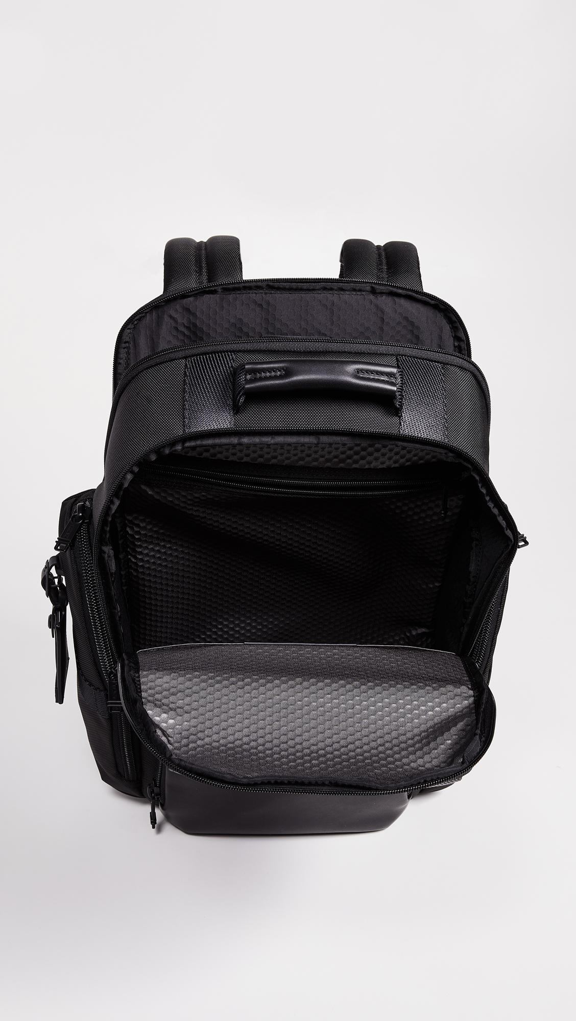 5b443b999 Tumi Alpha Bravo Sheppard Deluxe Backpack in Black for Men - Lyst