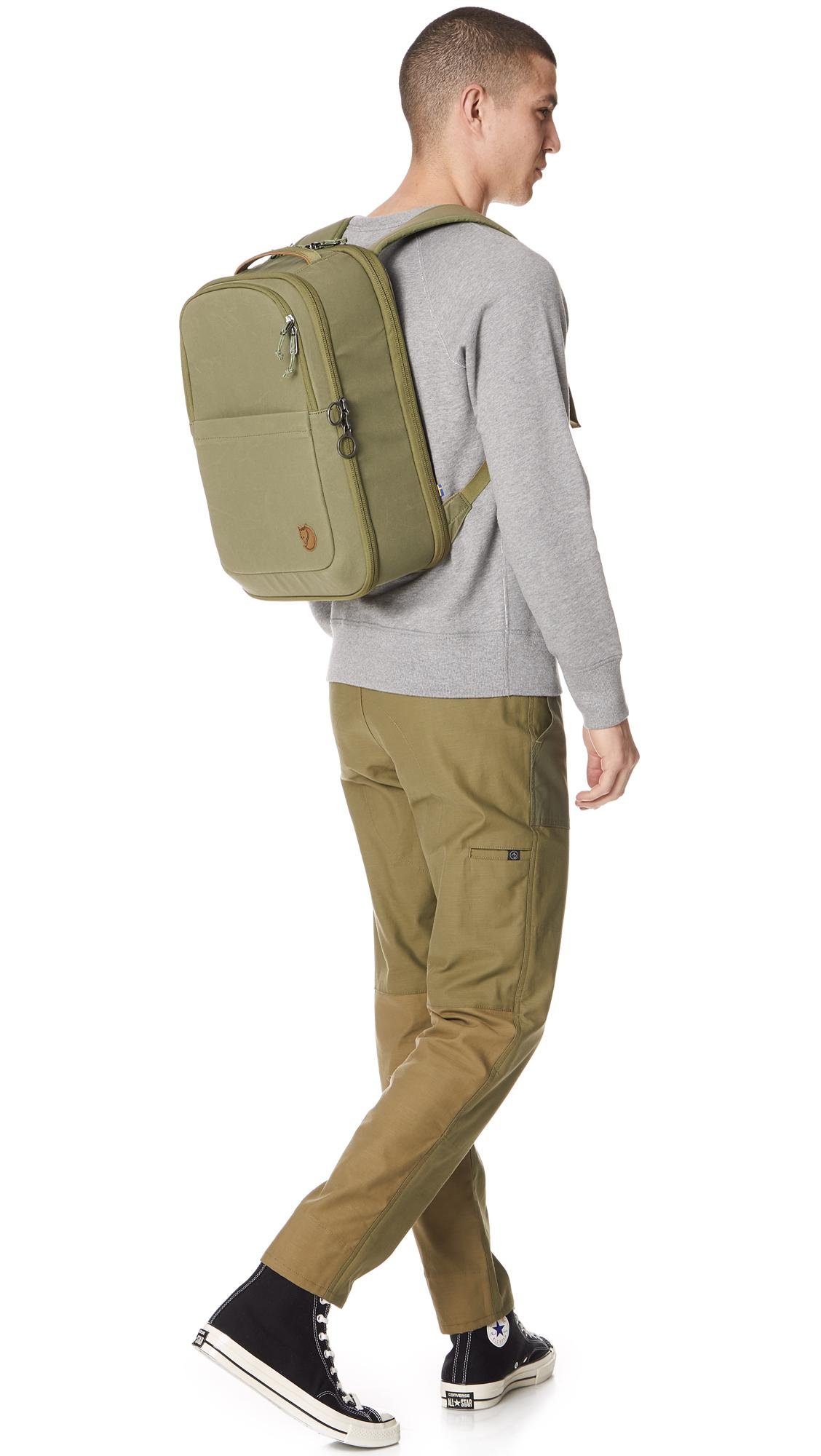 4cf01be6f138 Lyst - Fjallraven Travel Pack Small Bag in Green for Men