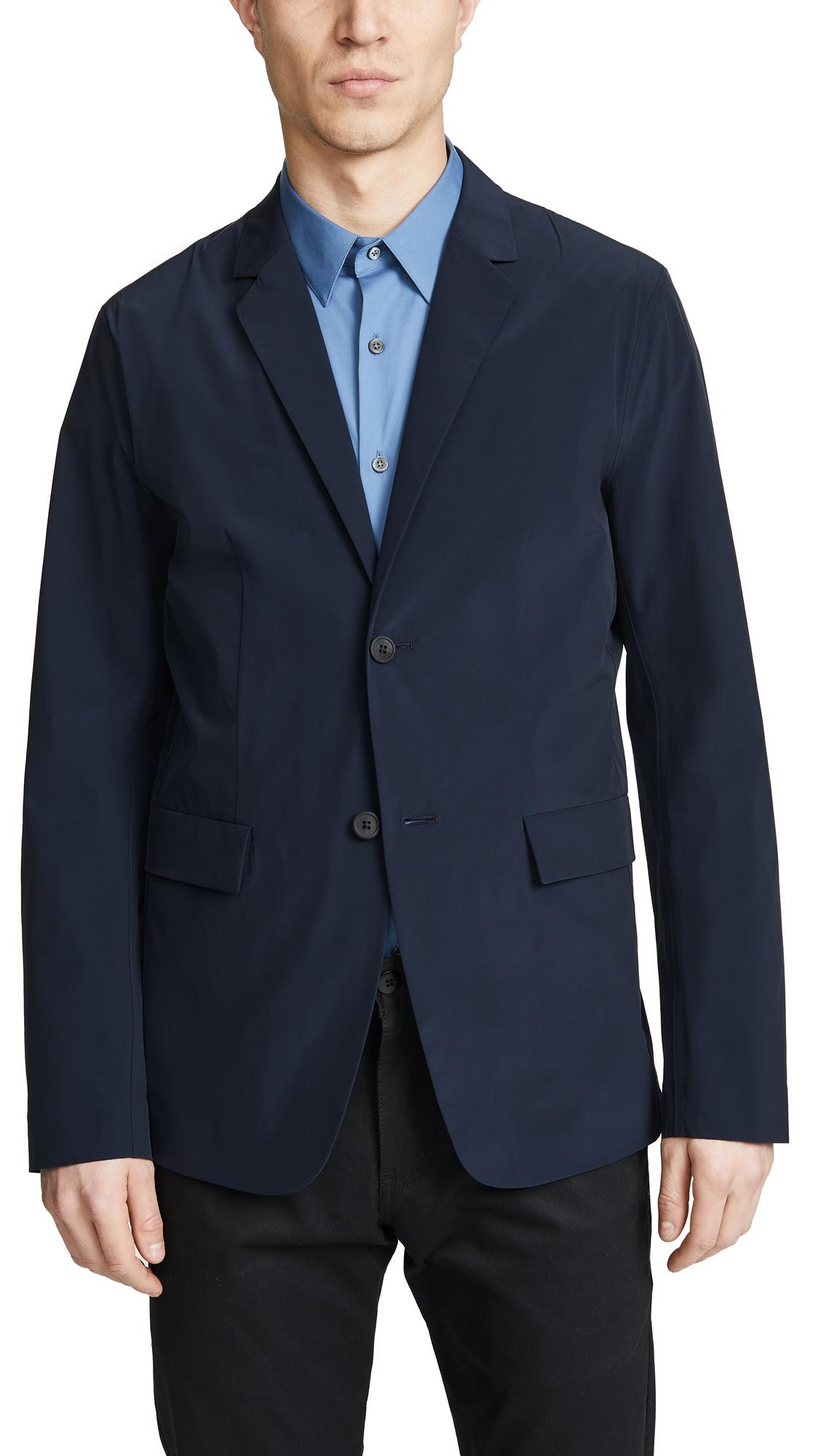 Theory Blazer For Men Blue In Packable Euclid Lyst waAZH