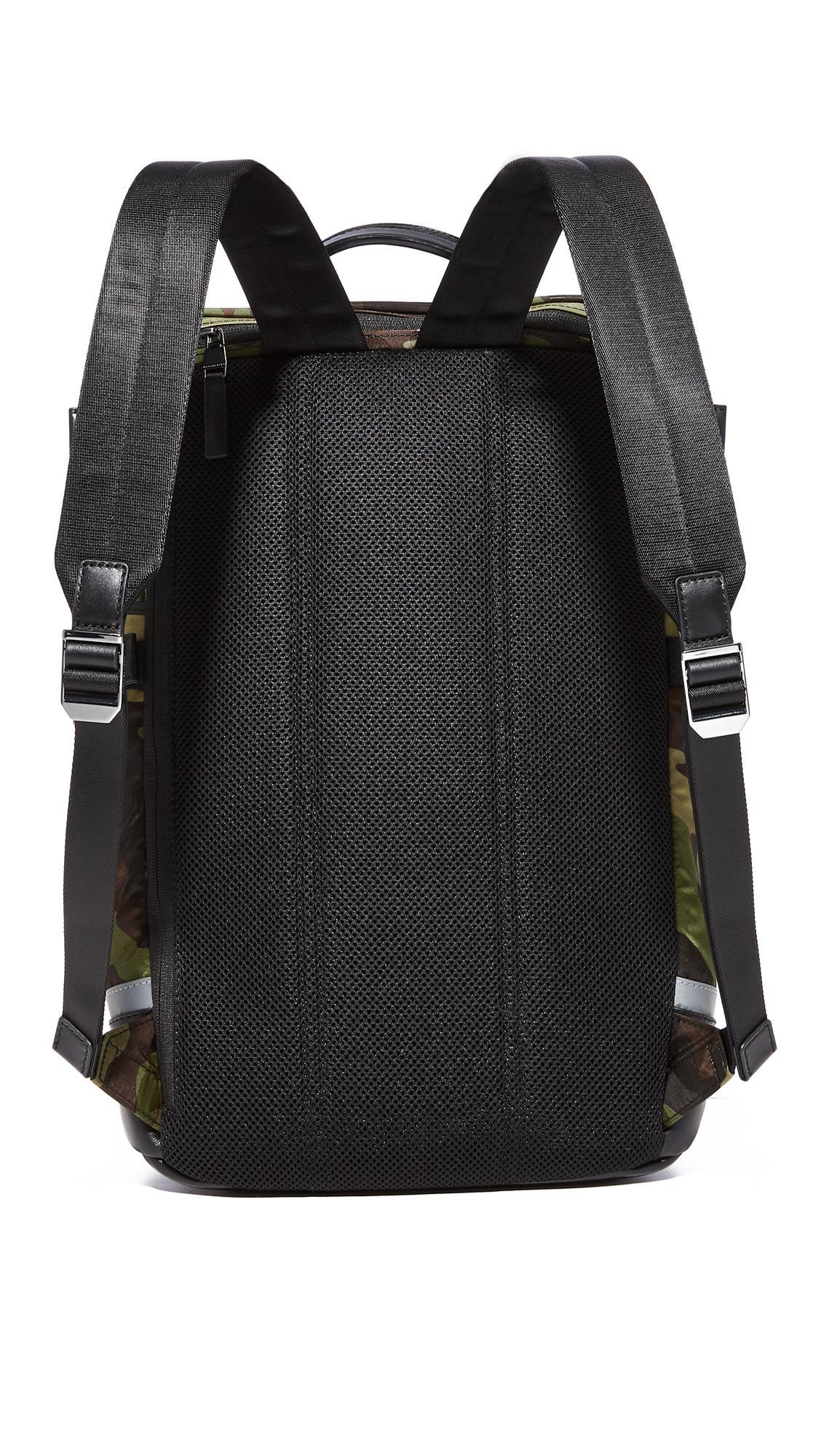 93beb31dbad7 Michael Kors Kent Camo Nylon Cycling Backpack in Black for Men - Lyst