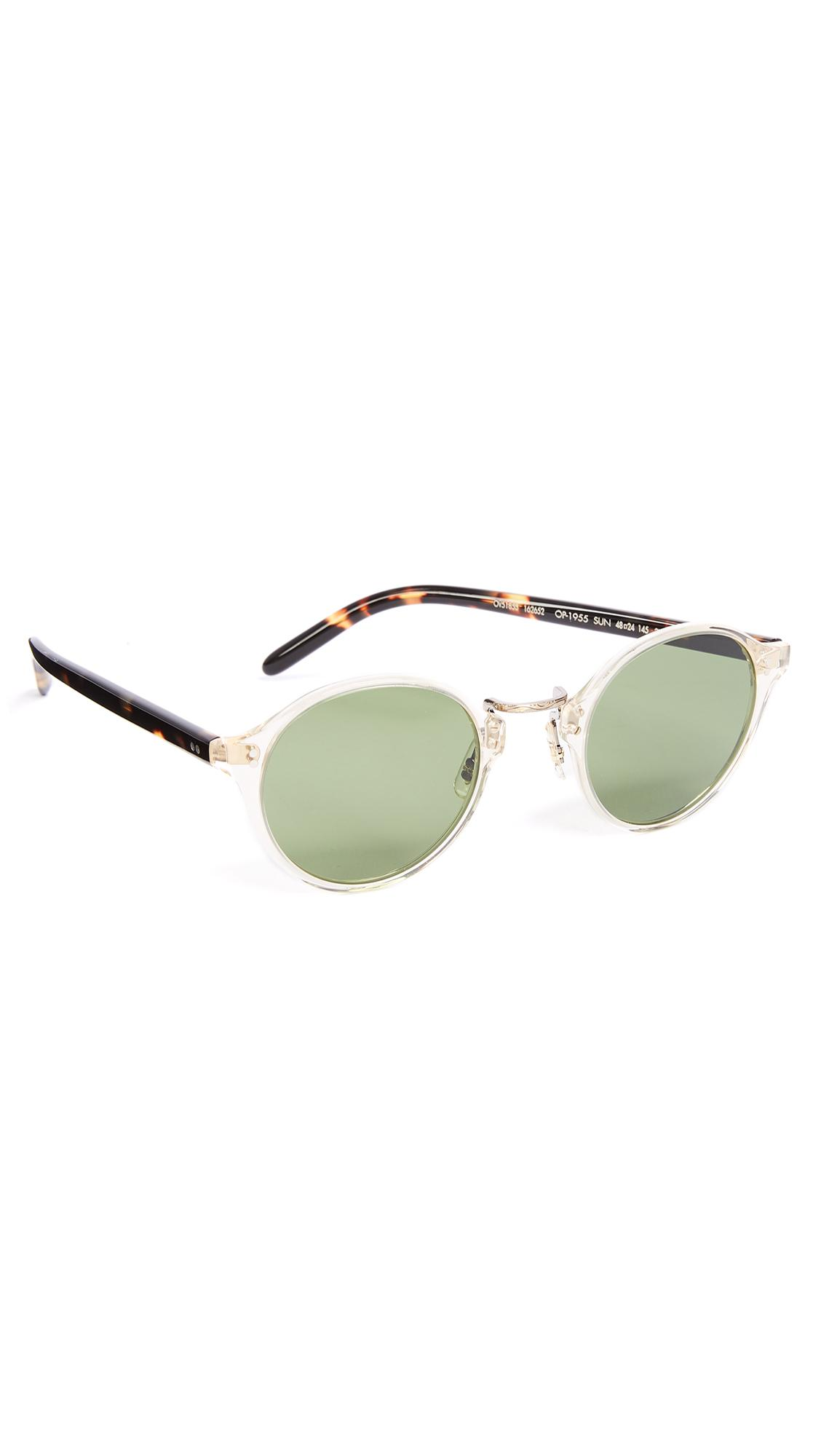 8ef57e1f15e Oliver Peoples Op 1955 Sunglasses in Green for Men - Lyst