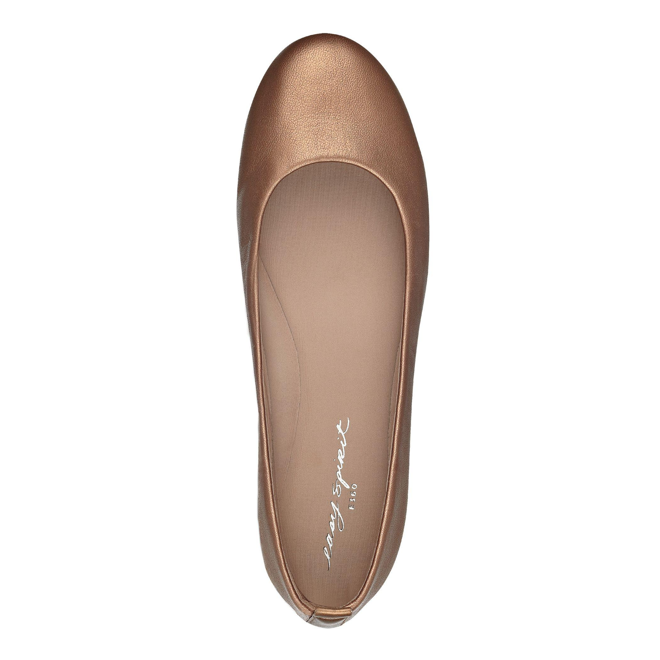026858de5 Easy Spirit Getcity Metallic Ballet Flats - Lyst